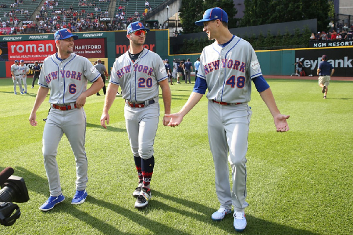 The New York Mets have two stars in Pete Alonso and Jacob d
