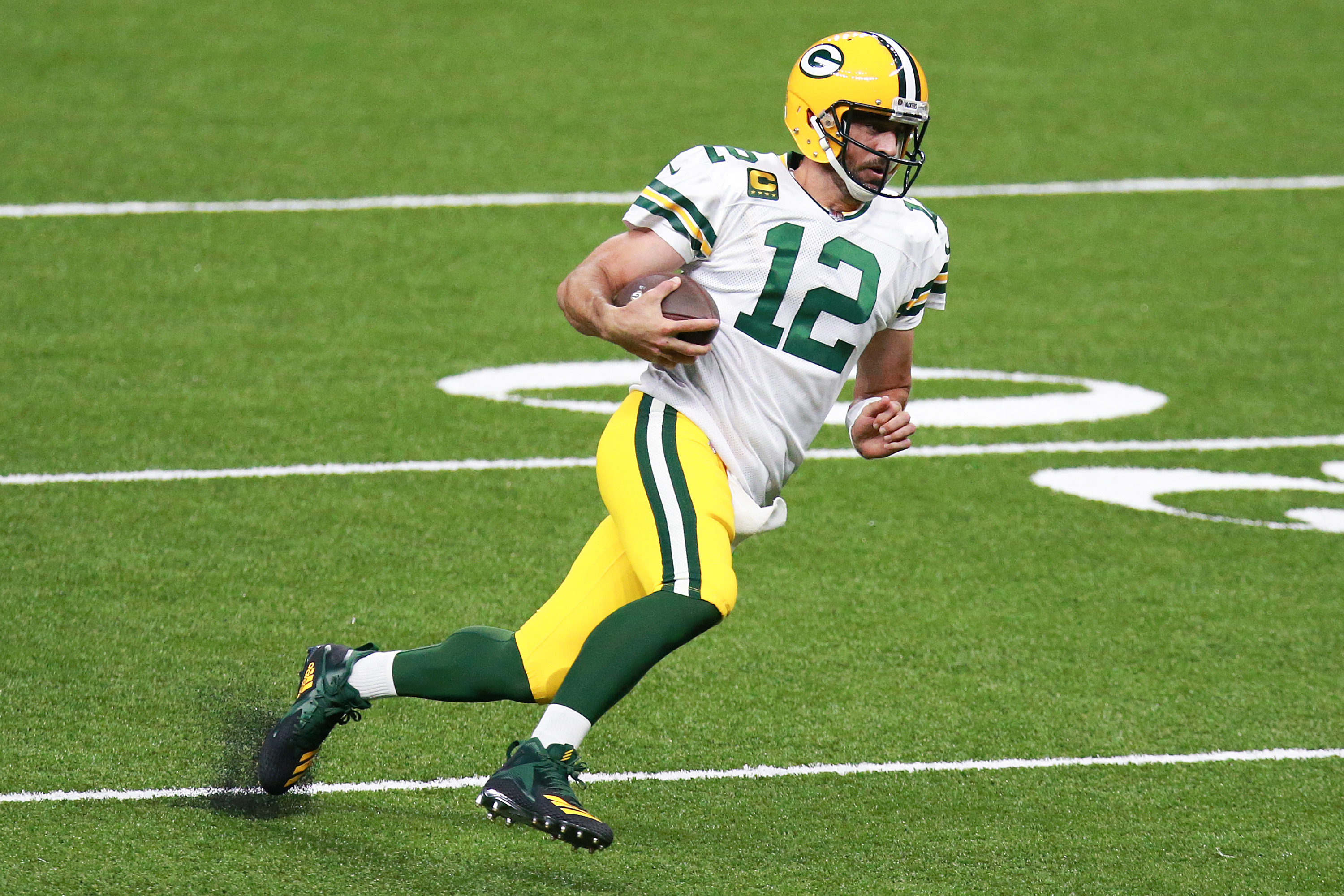 Aaron Rodgers and the Green Bay Packers are setting records.