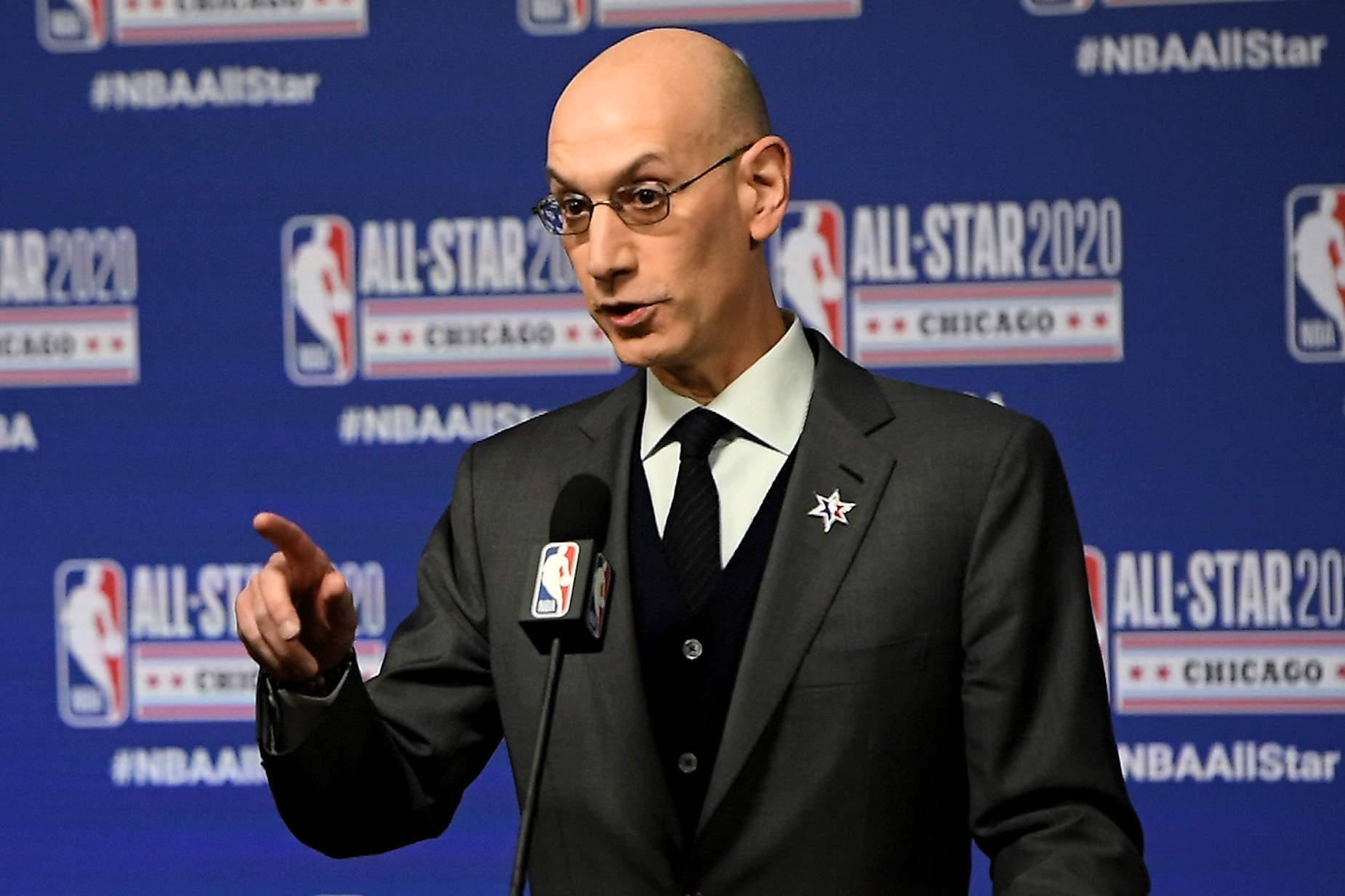 NBA commissioner Adam Silver saved his league from a $1.5 billion disaster.