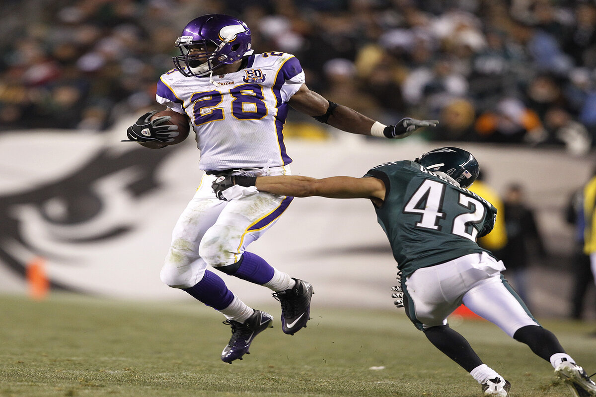 The NFL could pivot to Tuesday night games this season. Adrian Peterson and the Vikings played in the league's most recent one back in 2010.