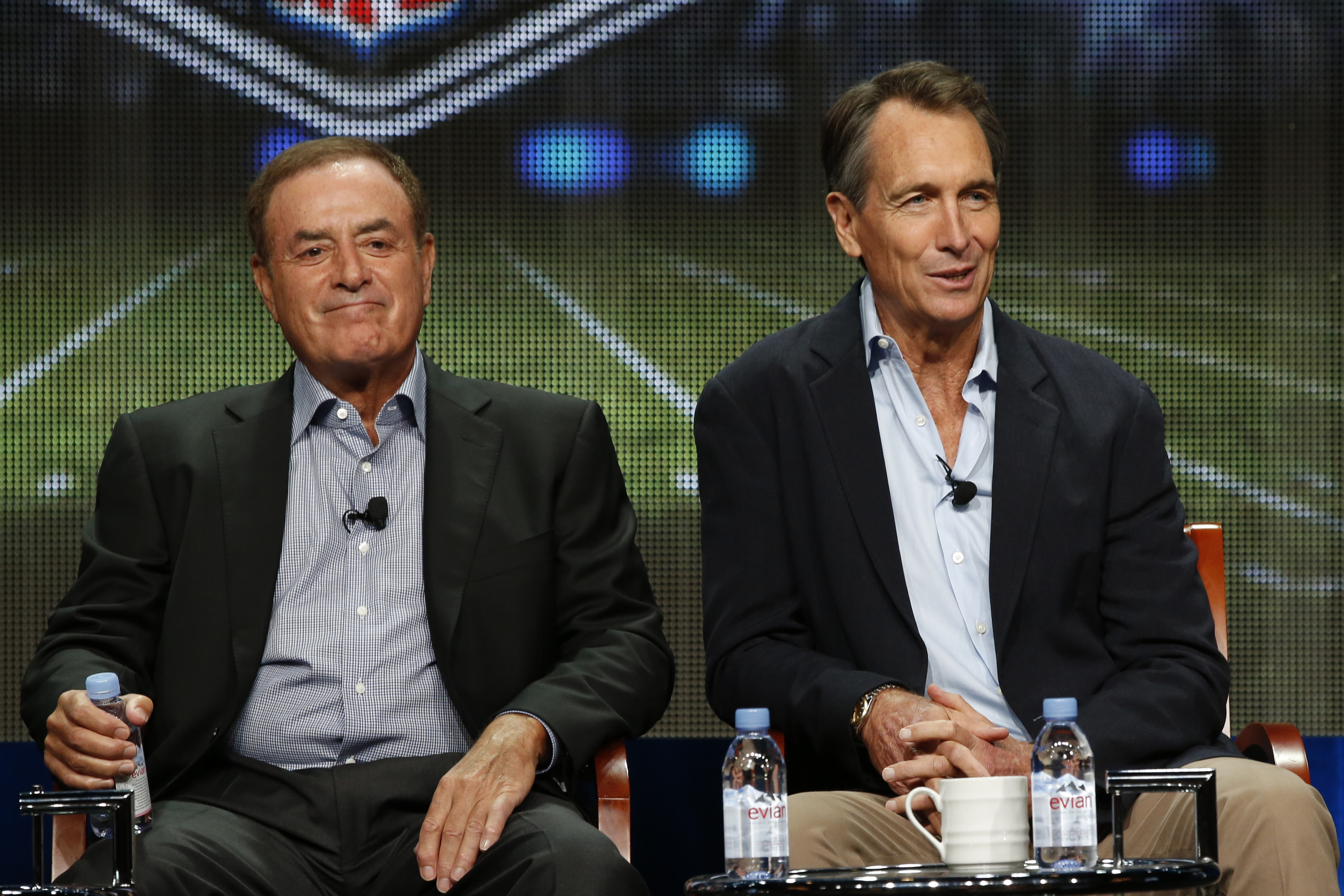 Even NBC's Al Michaels agrees that NFL games aren't the same without live fans in the building.