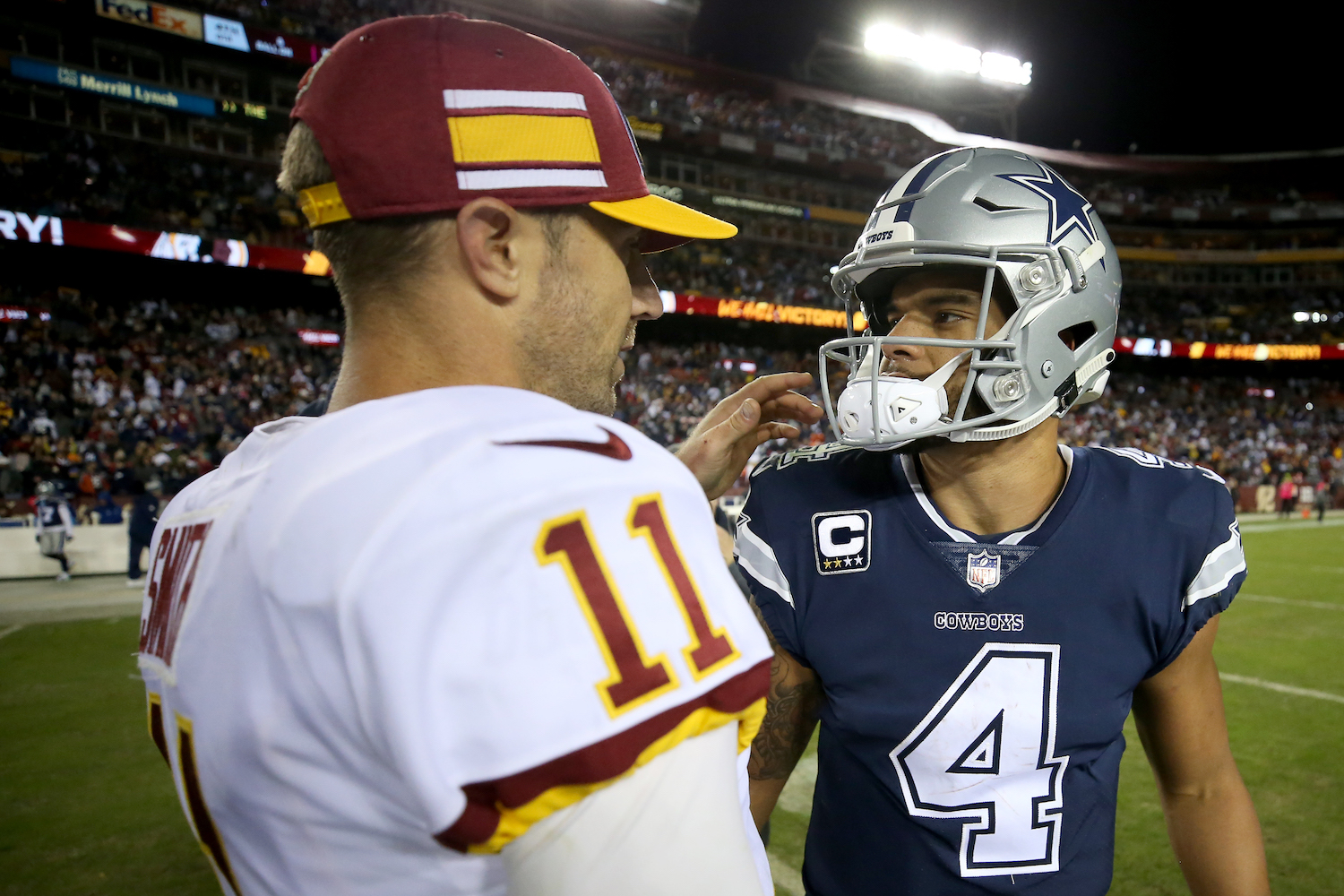 Alex Smith and Dak Prescott