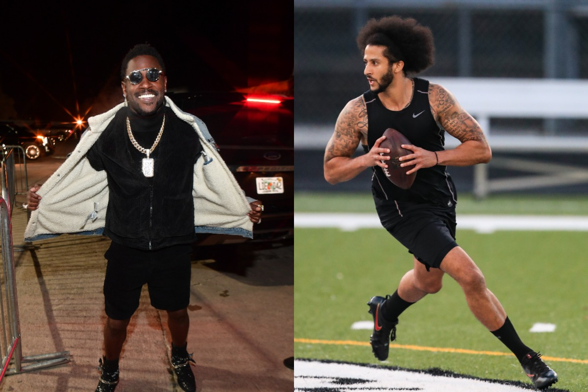 Antonio Brown and Colin Kaepernick appeared forever linked together on the NFL's do-not-call list. Brown could get signed soon, though.
