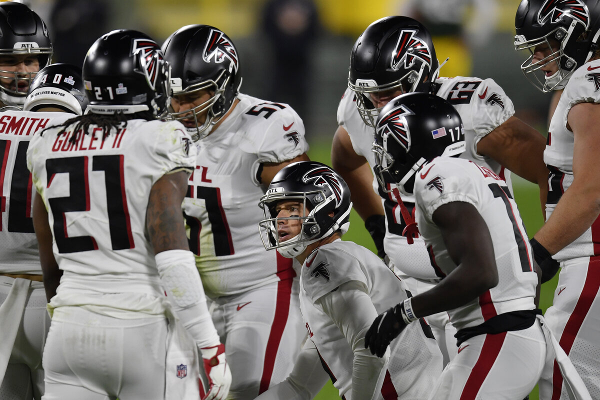 The Atlanta Falcons' Week 6 game at the Minnesota Vikings is now considered 'in jeopardy' after Atlanta had multiple positive COVID-19 tests.