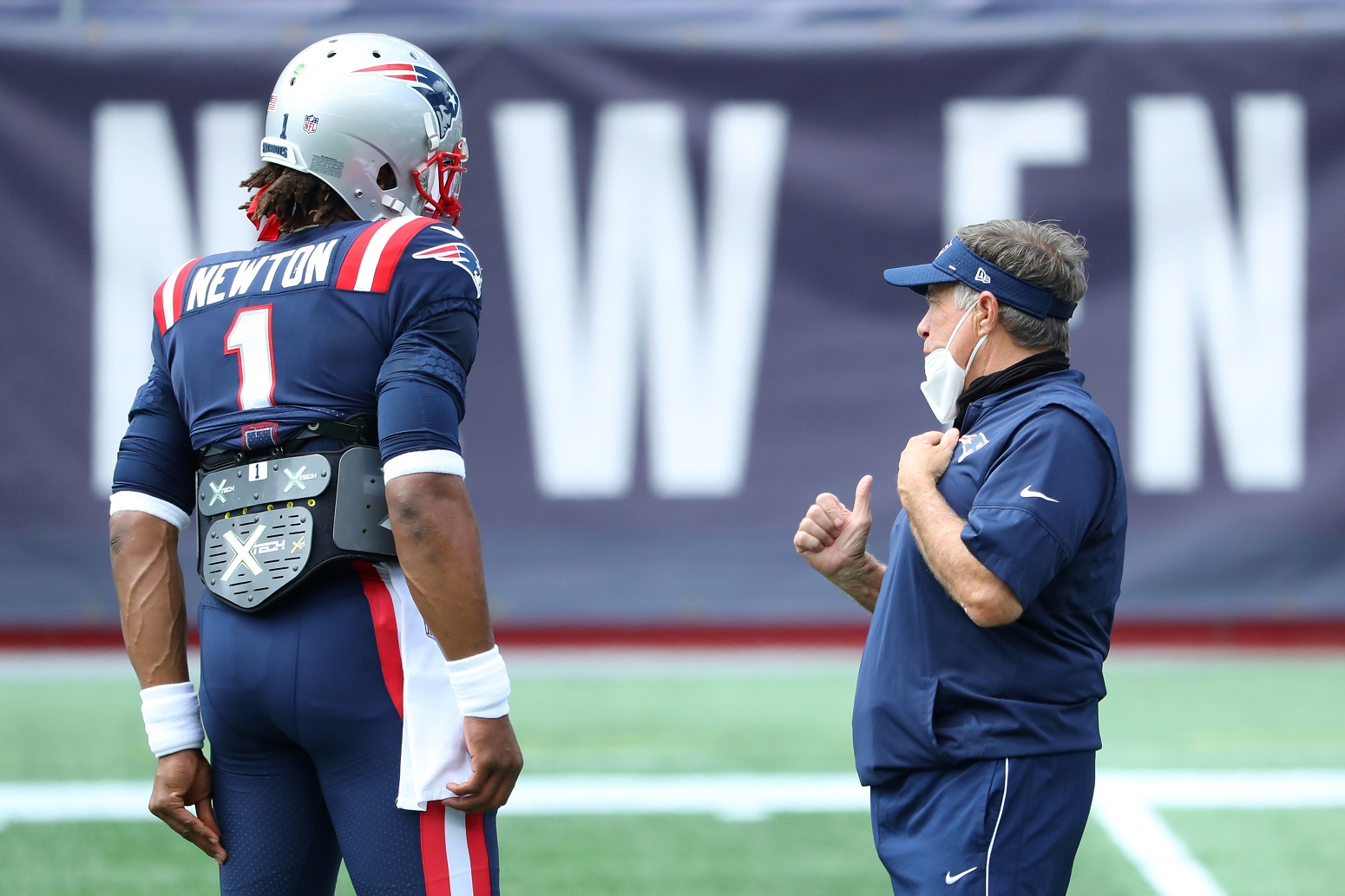Bill Belichick worried Cam Newton Another NFL Team