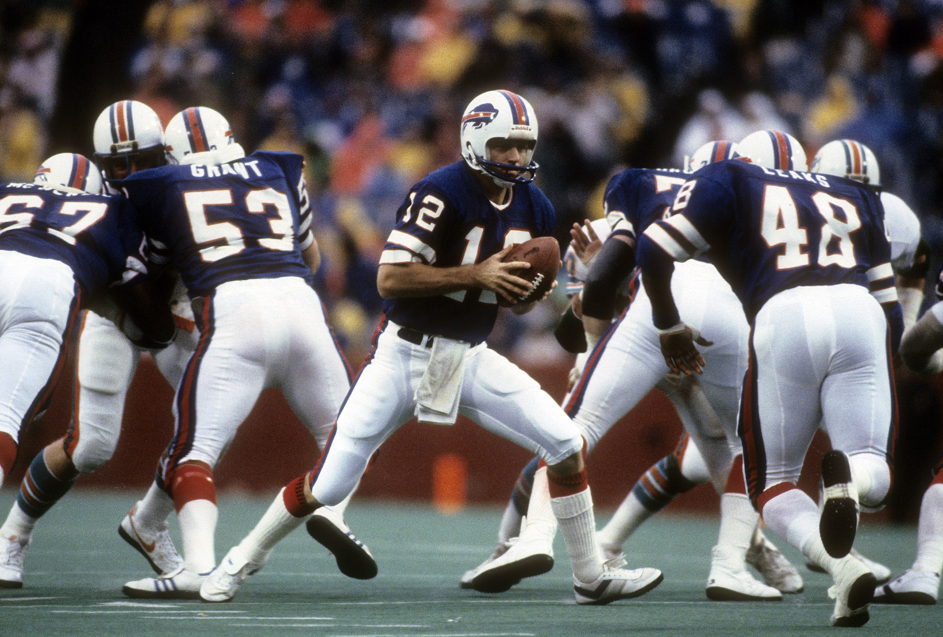 Buffalo Bills quarterback Joe Ferguson
