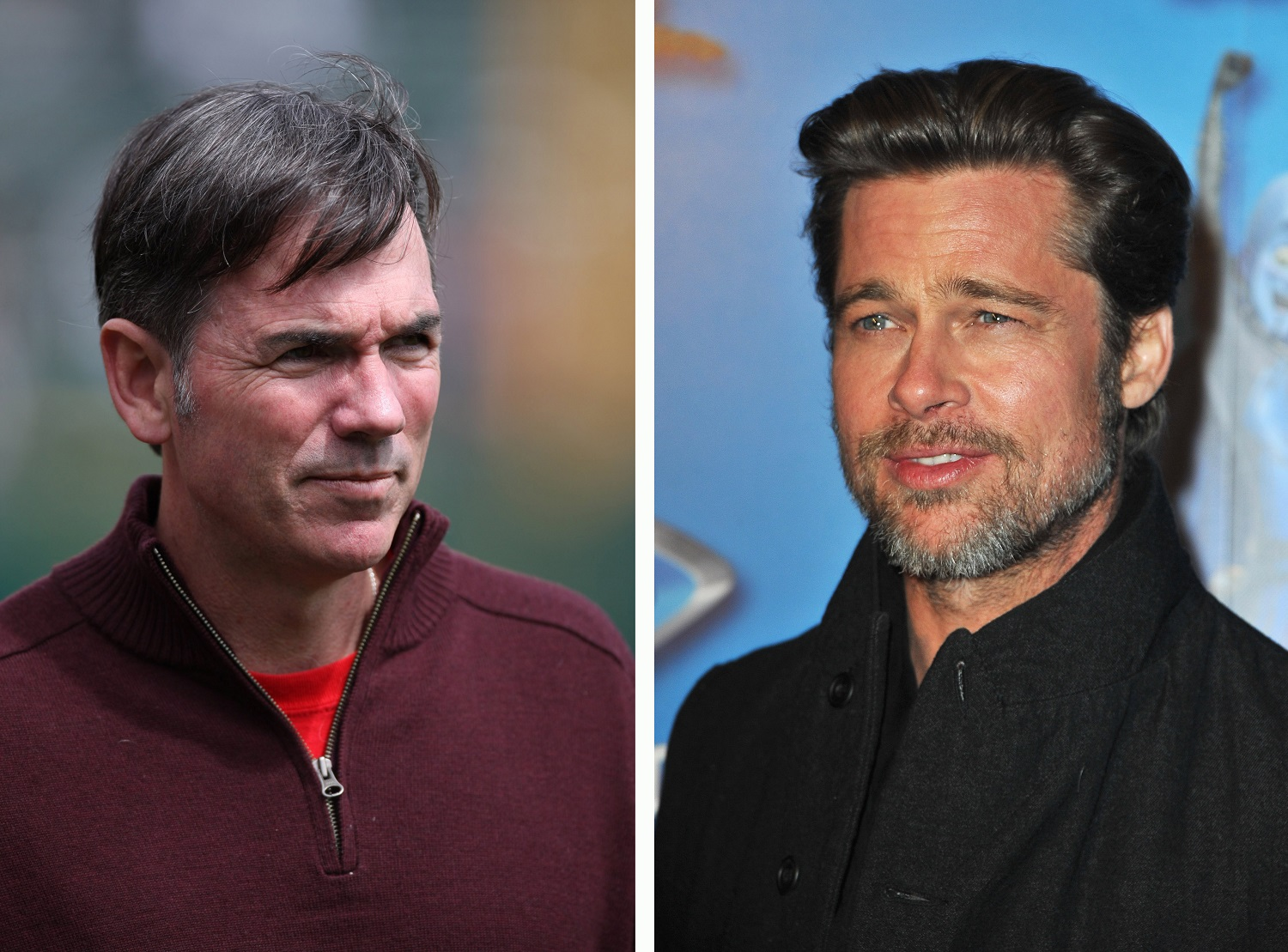 Billy Beane Brad Pitt Oakland A's