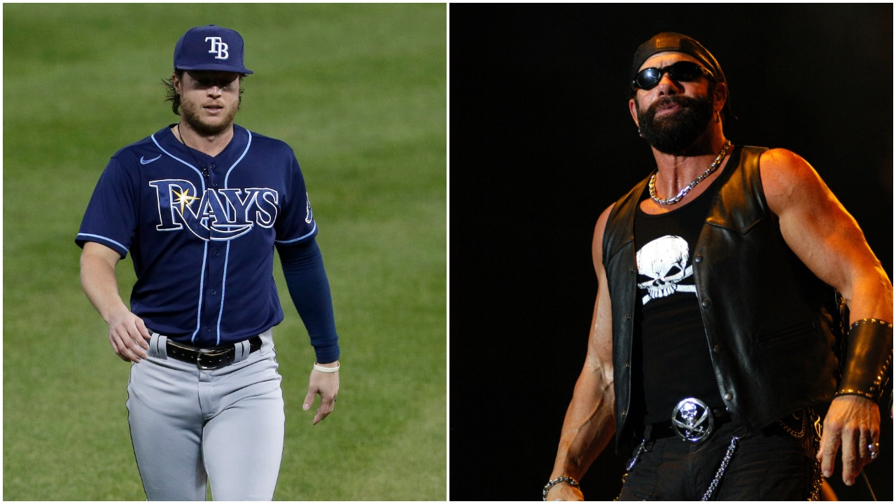 Rays World Series Hero Brett Phillips Was Taught Lessons in Competitiveness by His Old Neighbor, WWE Legend 'Macho Man' Randy Savage