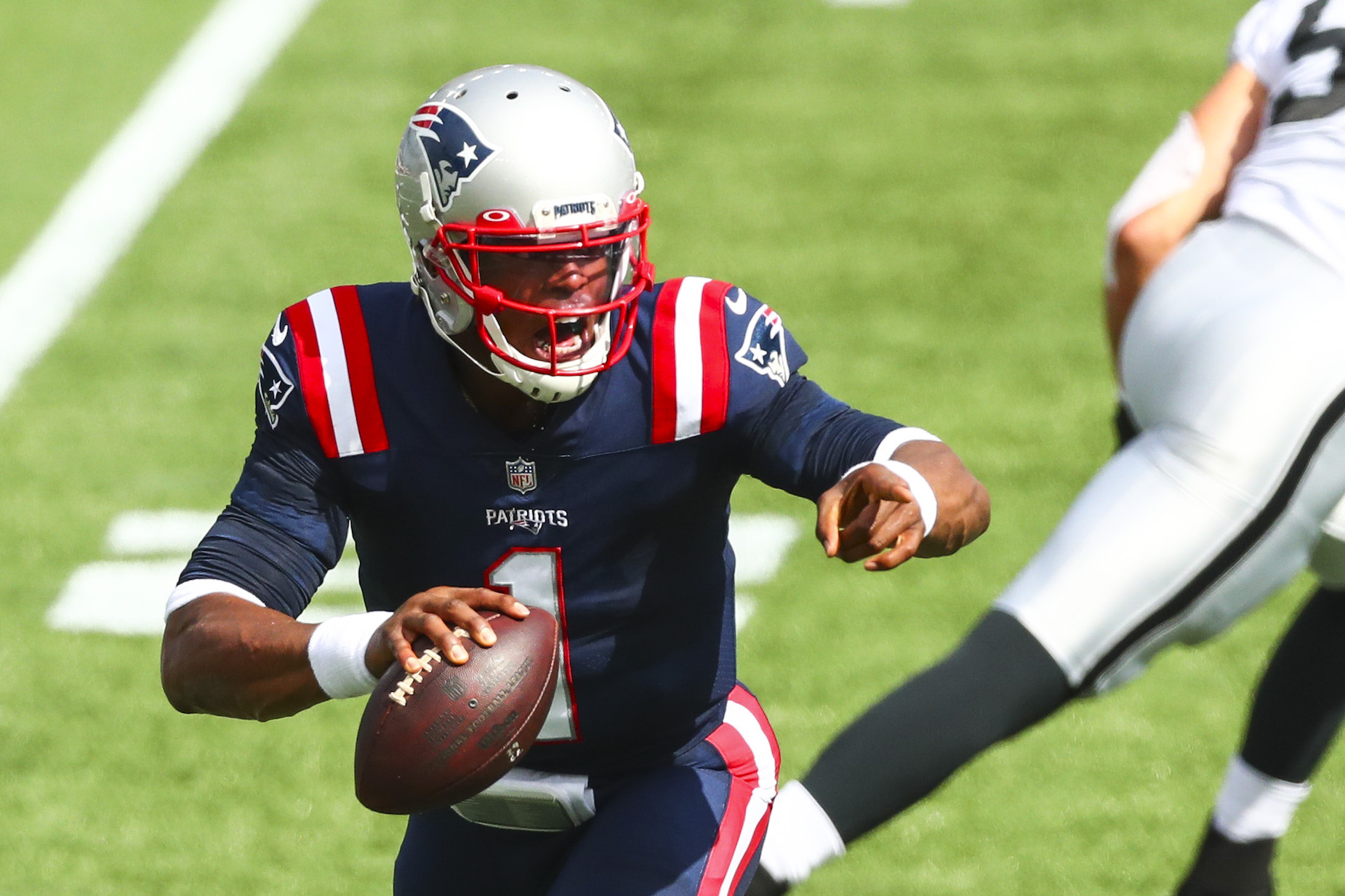 Cam Newton's stock rose on Monday night, even though he didn't suit up for the New England Patriots.