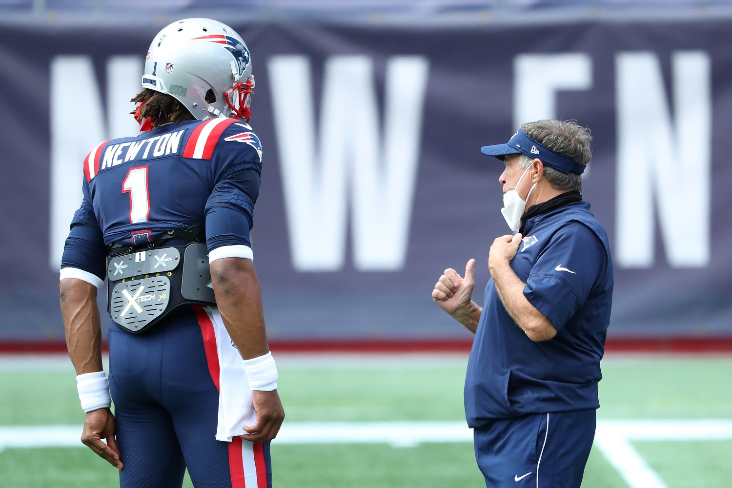 Bill Belichick Sends a Crystal Clear Message on Cam Newton's Future With the Patriots