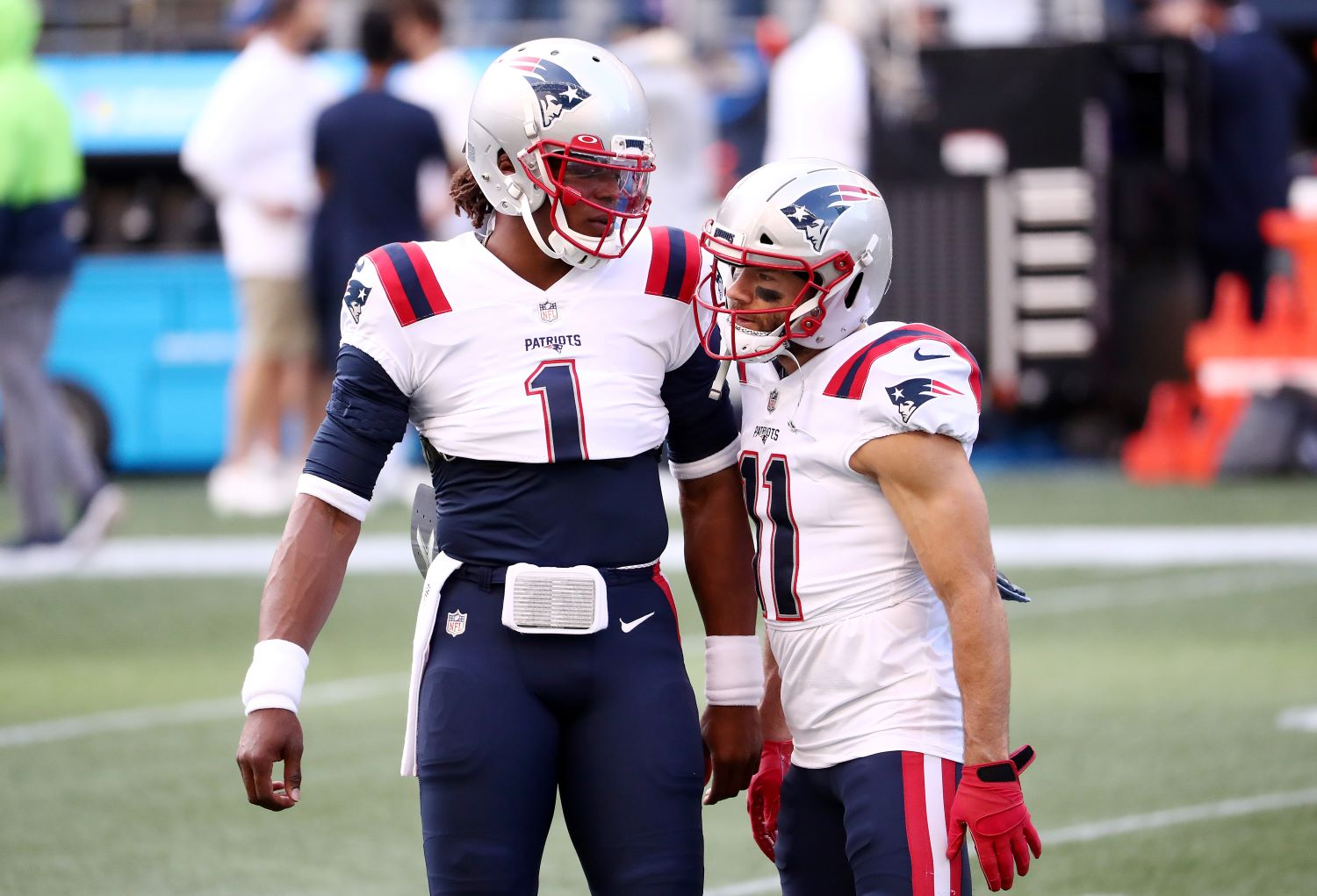 Julian Edelman just dealt a devastating blow to Cam Newton's Patriots career.