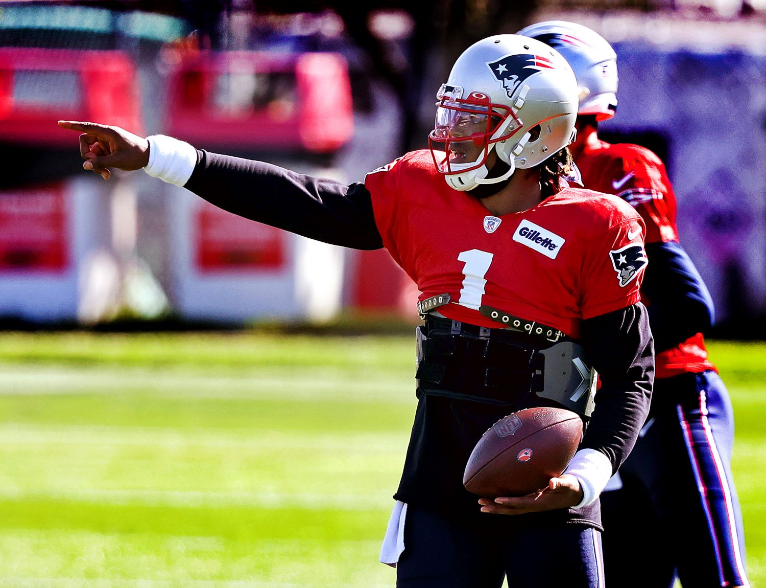 Cam Newton sent a stern message that should put Patriots fans at ease. Can New England get back on track against the San Francisco 49ers?