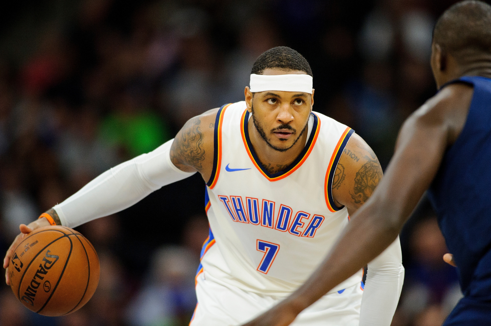 Things did not work out between Carmelo Anthony and the Oklahoma City Thunder. Anthony recently revealed what happened between him and OKC.