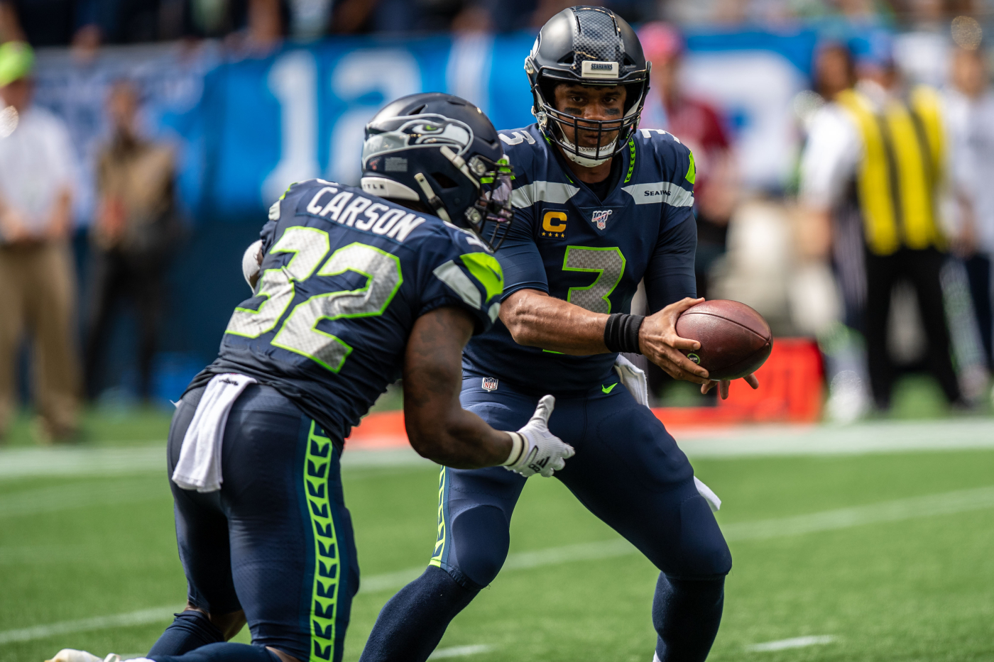 It appears that the Seattle Seahawks' star RB, Chris Carson, will miss some time. This means that their playoff hopes could be in jeopardy.