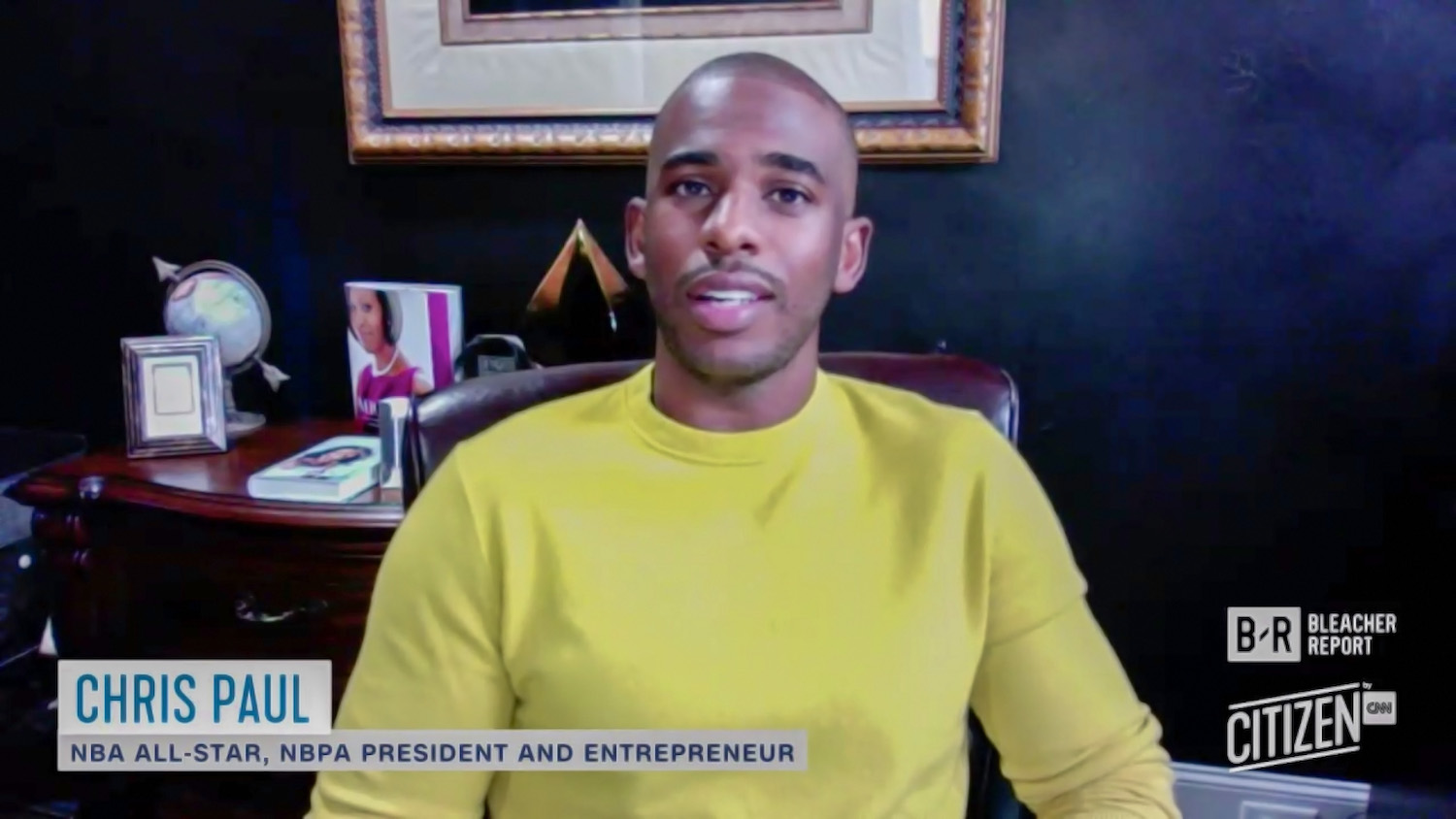 NBA Star Chris Paul's 2021 Documentary Details the Craziest Year in Sports History