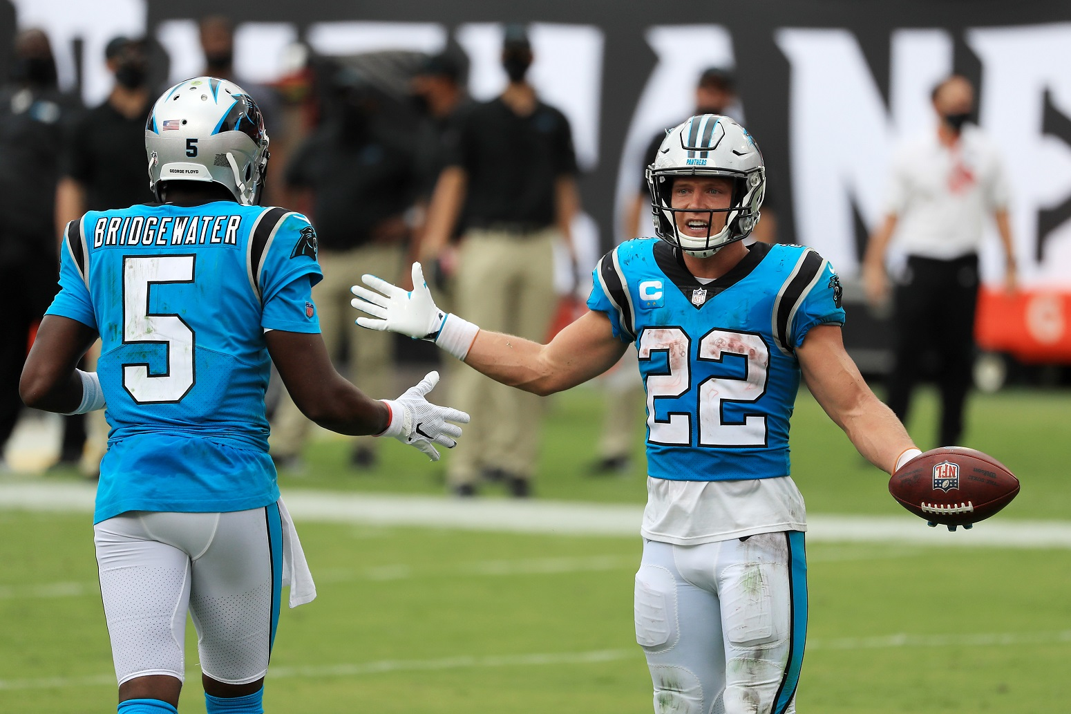 Christian McCaffrey Panthers return date