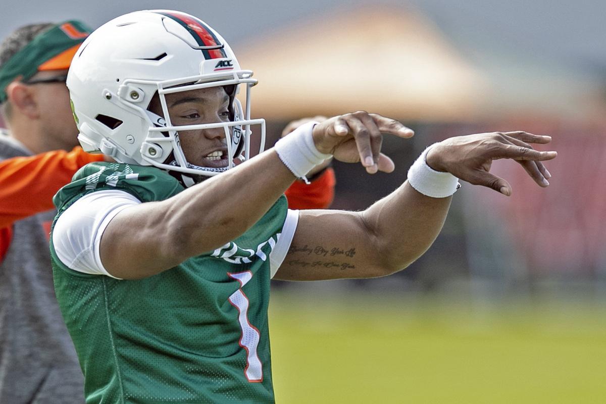 Miami Hurricanes quarterback D'Eriq King is making a case to win the Heisman Trophy.