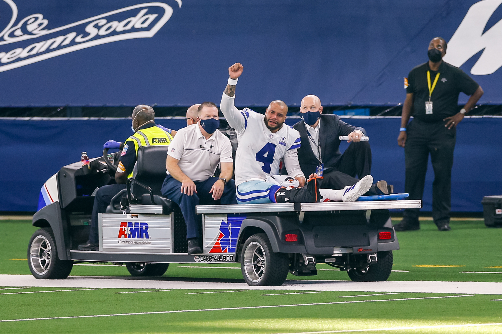 Dallas Cowboys QB Dak Prescott recently suffered a gruesome injury. He has since received a compassionate offer from an NBA star.
