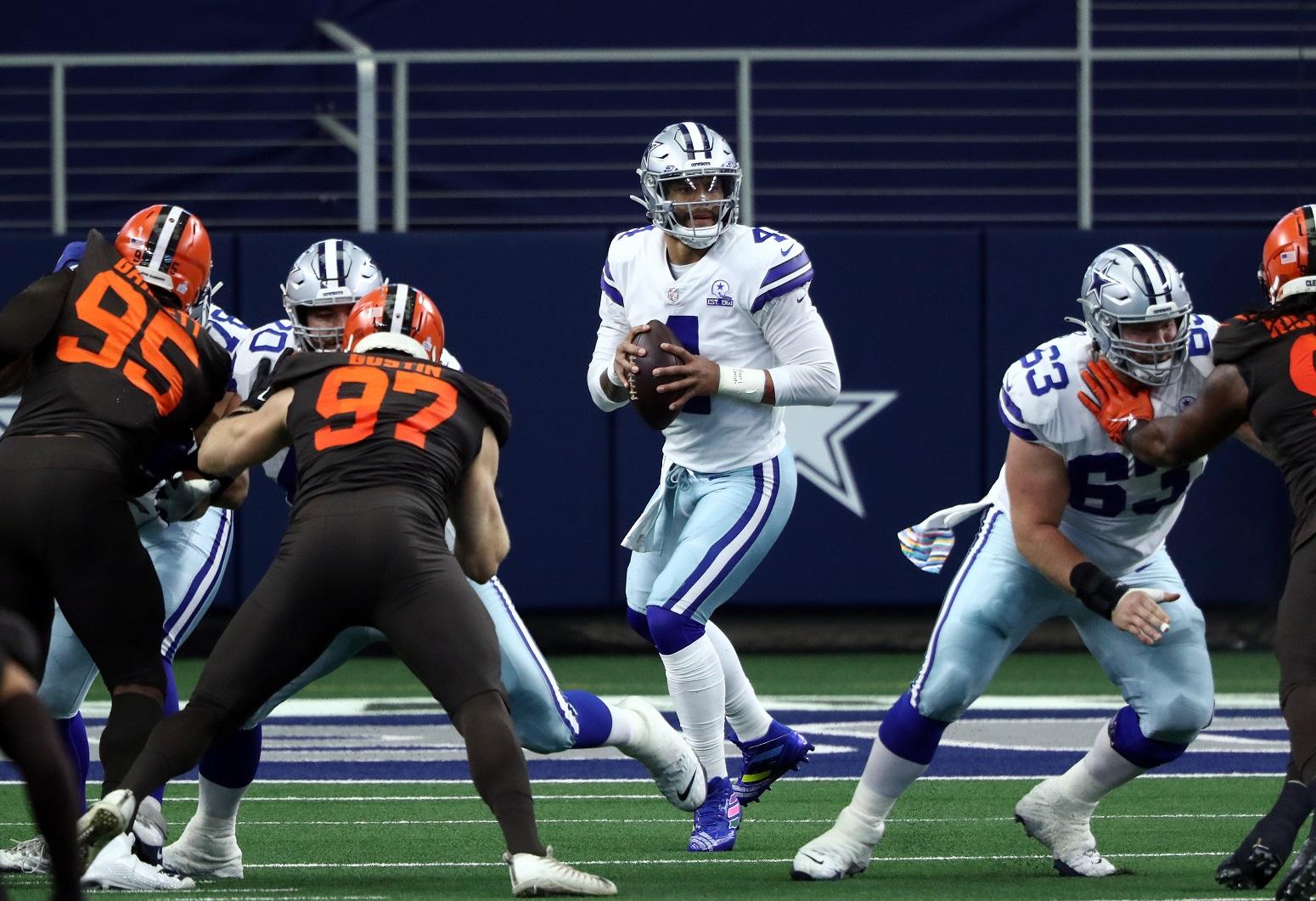 Dak Prescott historic performance Cowboys biggest weakness