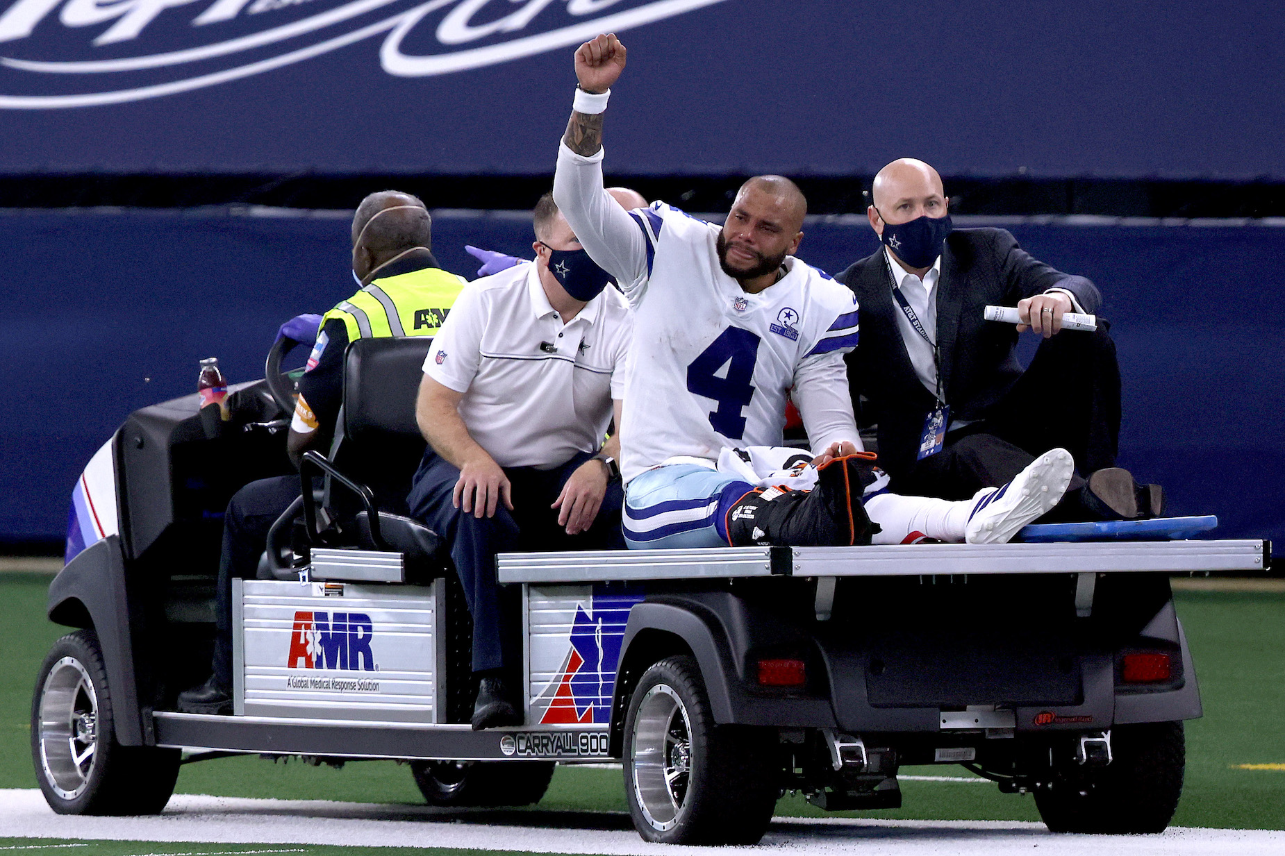 While Dak Prescott's ankle injury was gruesome, Jerry Jones is already overreacting.