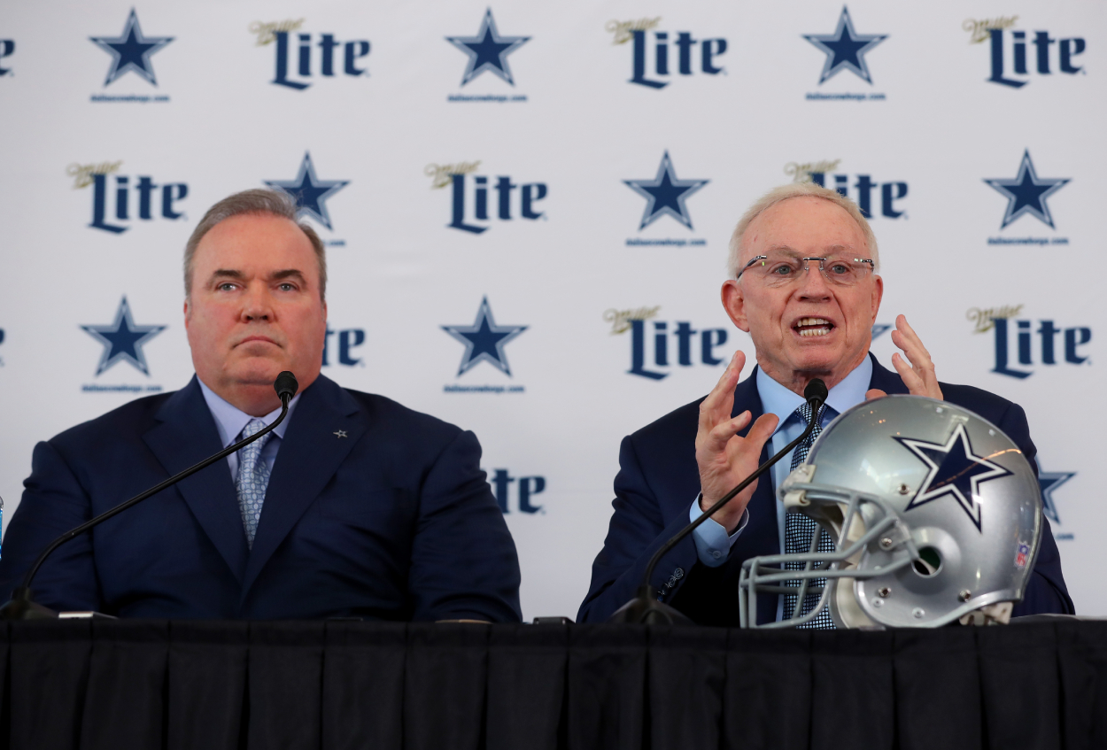 Jerry Jones introduces Mike McCarthy as Cowboys head coach
