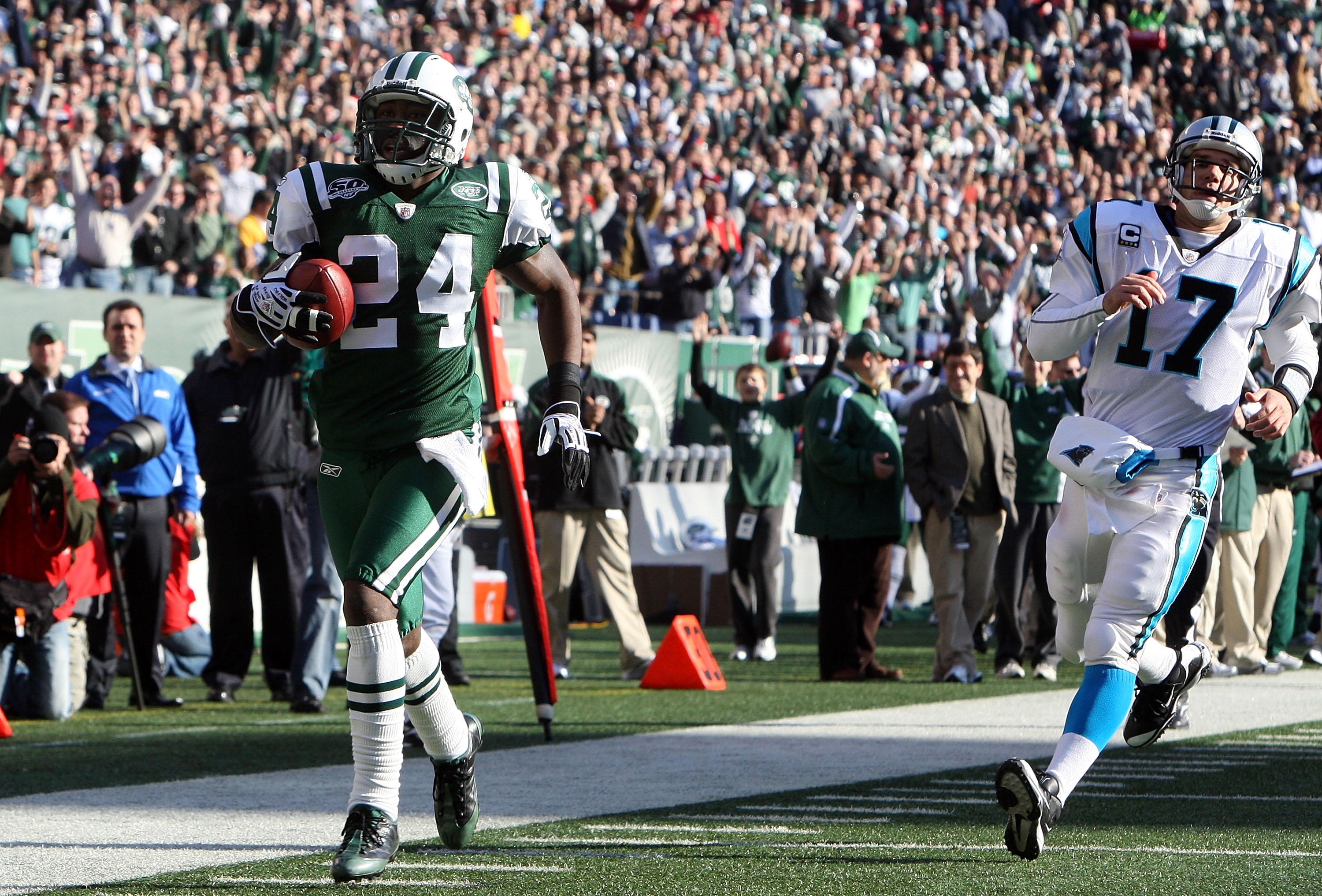 New York Jets cornerback Darrelle Revis had a season for the ages in 2009 -- and still somehow didn't win Defensive Player of the Year.