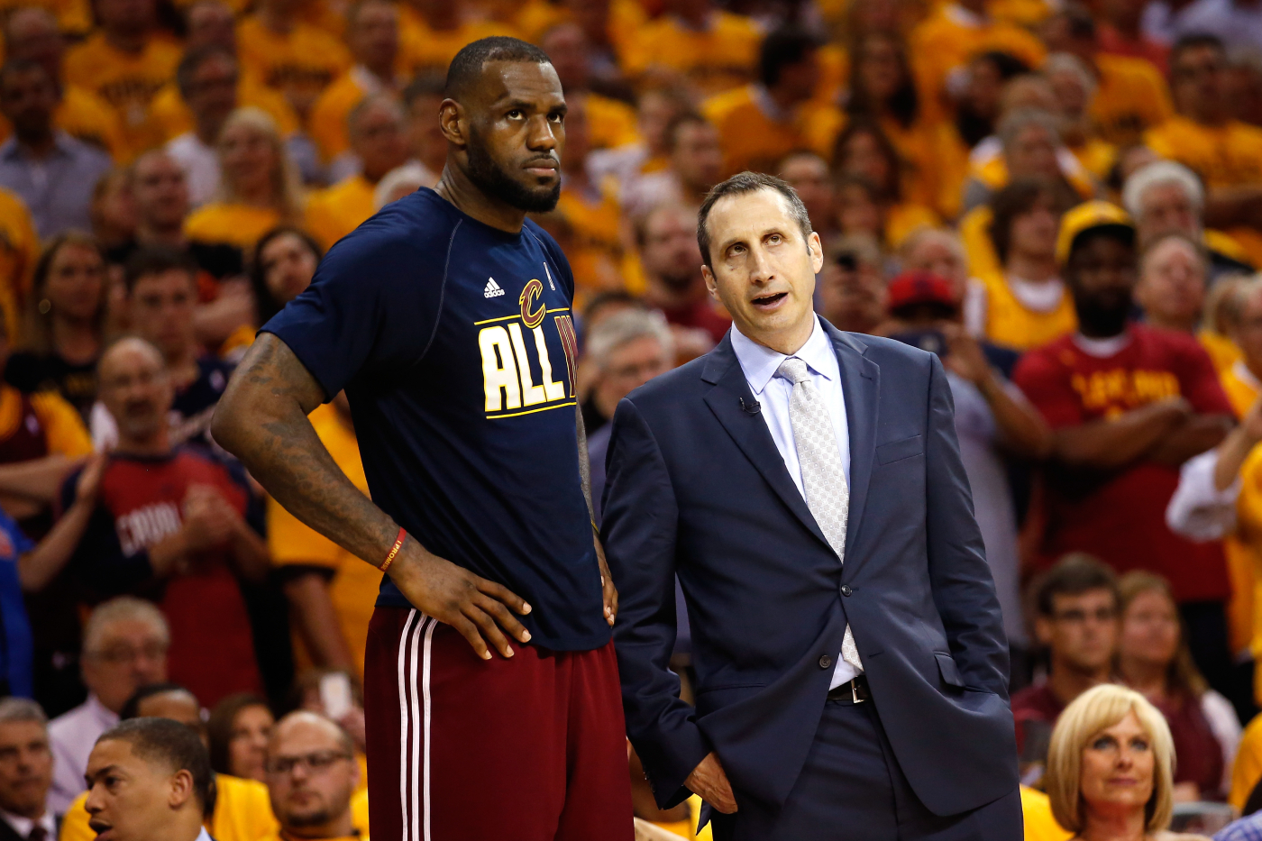 LeBron James has had many NBA coaches in his career. He once had an awkward encounter with former Cavaliers coach David Blatt, though.