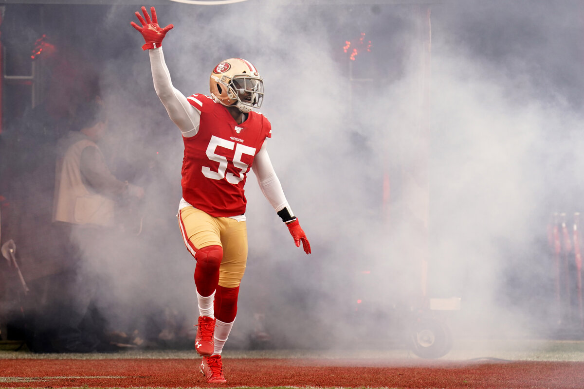 San Francisco 49ers pass-rusher Dee Ford may be approaching the end of his career because of back injuries.