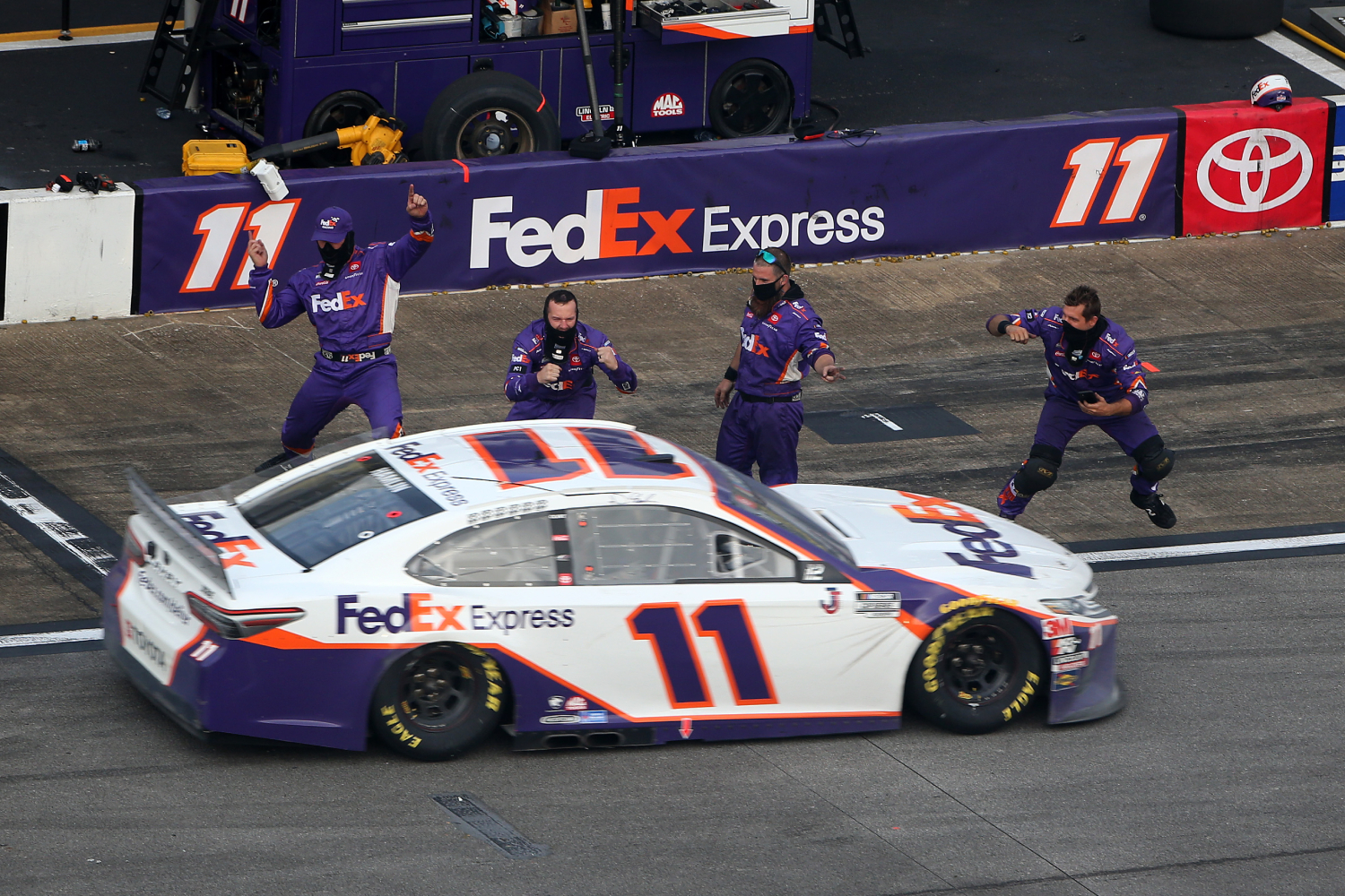 Denny Hamlin knew he was destined for racing at age 7.