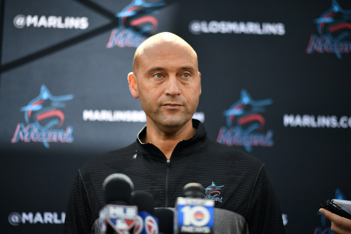 Marlins CEO Derek Jeter