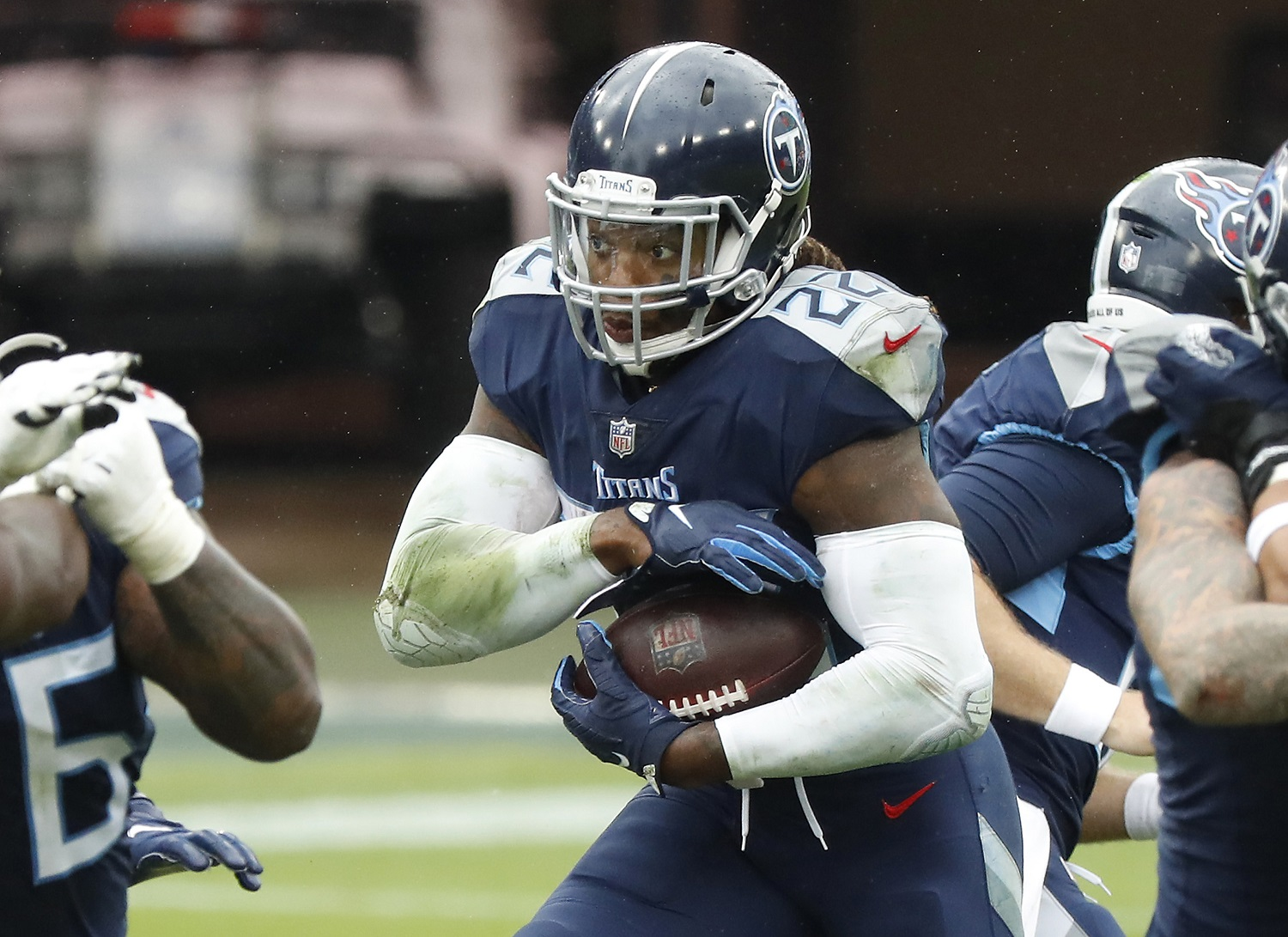 Derrick Henry Set an NFL Record on Sunday and Also Joined an Exclusive Club That Includes 3 Hall of Famers