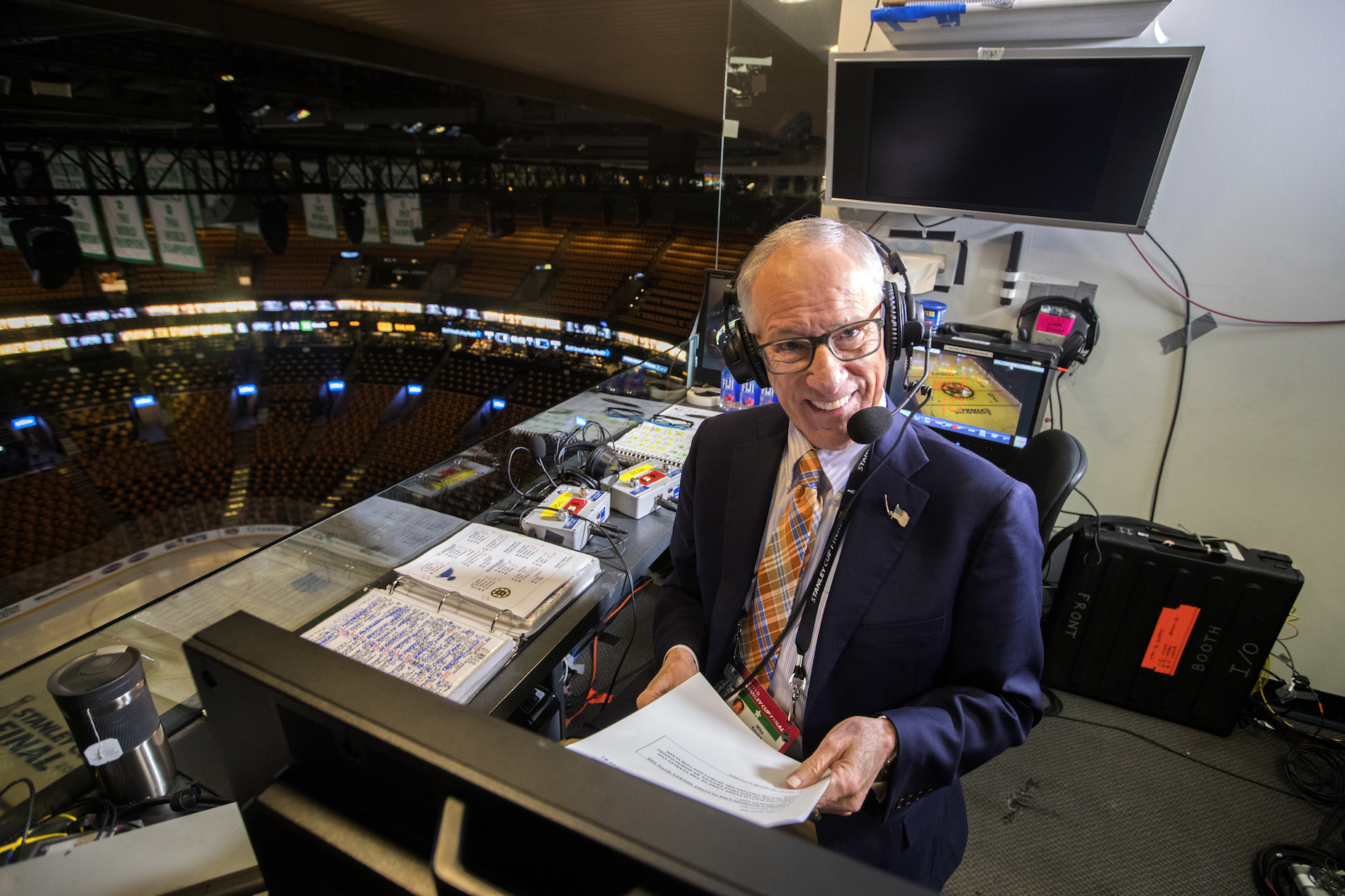 Mike 'Doc' Emrick built up an impressive net worth before retiring from sports broadcasting.
