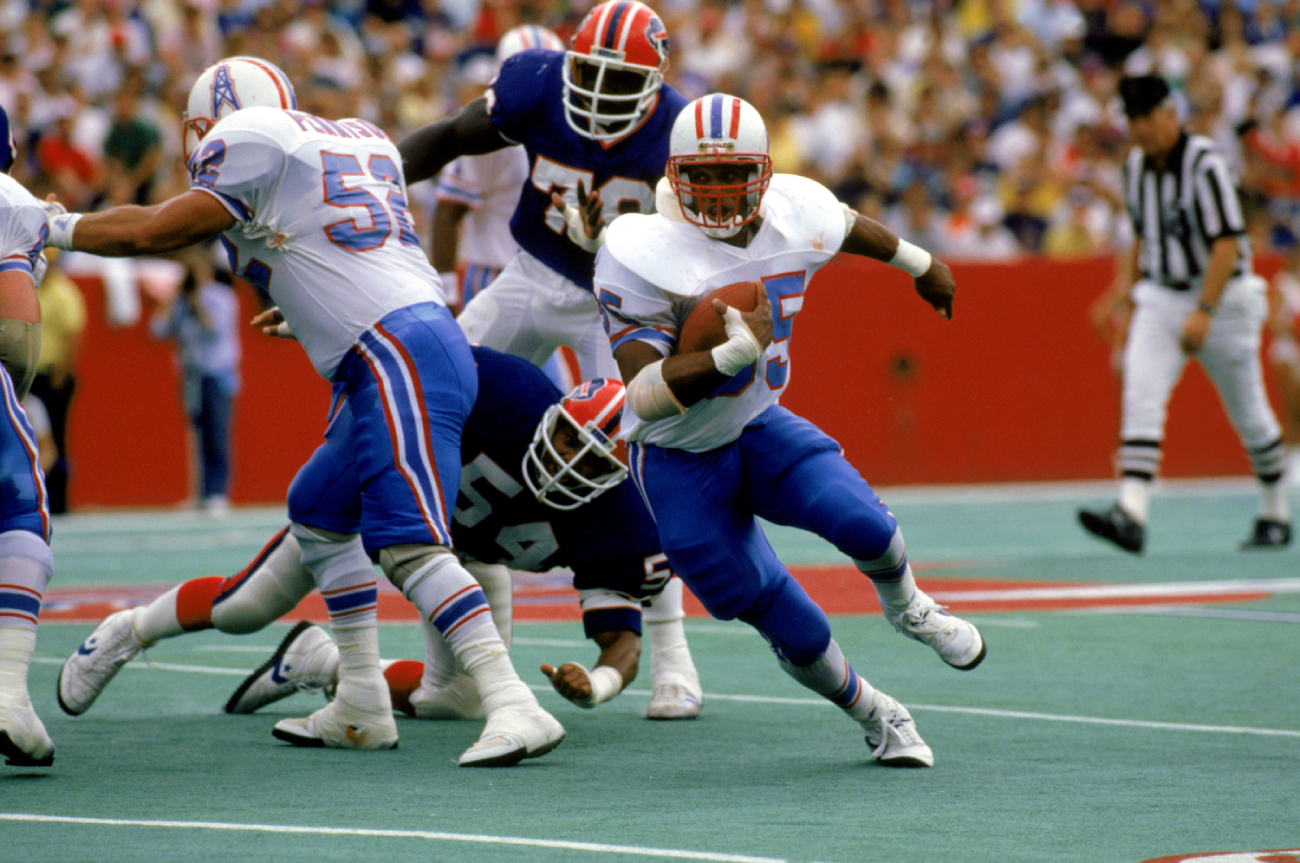 Drew Hill was a major threat for the Houston Oilers.