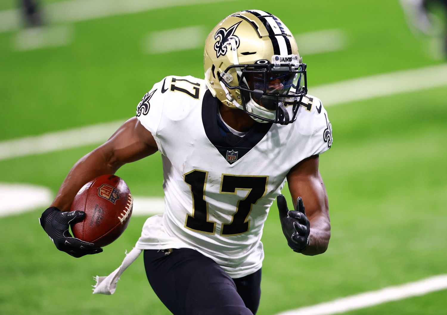 The Saints just suffered a brutal COVID-19 blow with Emmanuel Sanders landing on the reserve/COVID-19 list just two days before New Orleans takes on the Carolina Panthers.