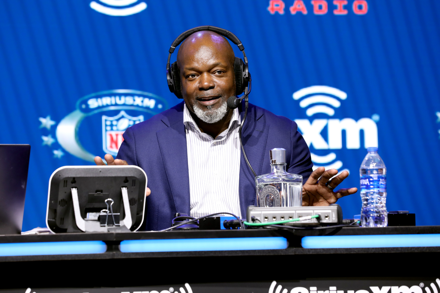 The Dallas Cowboys have been horrible so far this season. Emmitt Smith is forgetting about their struggles by working with NASCAR.
