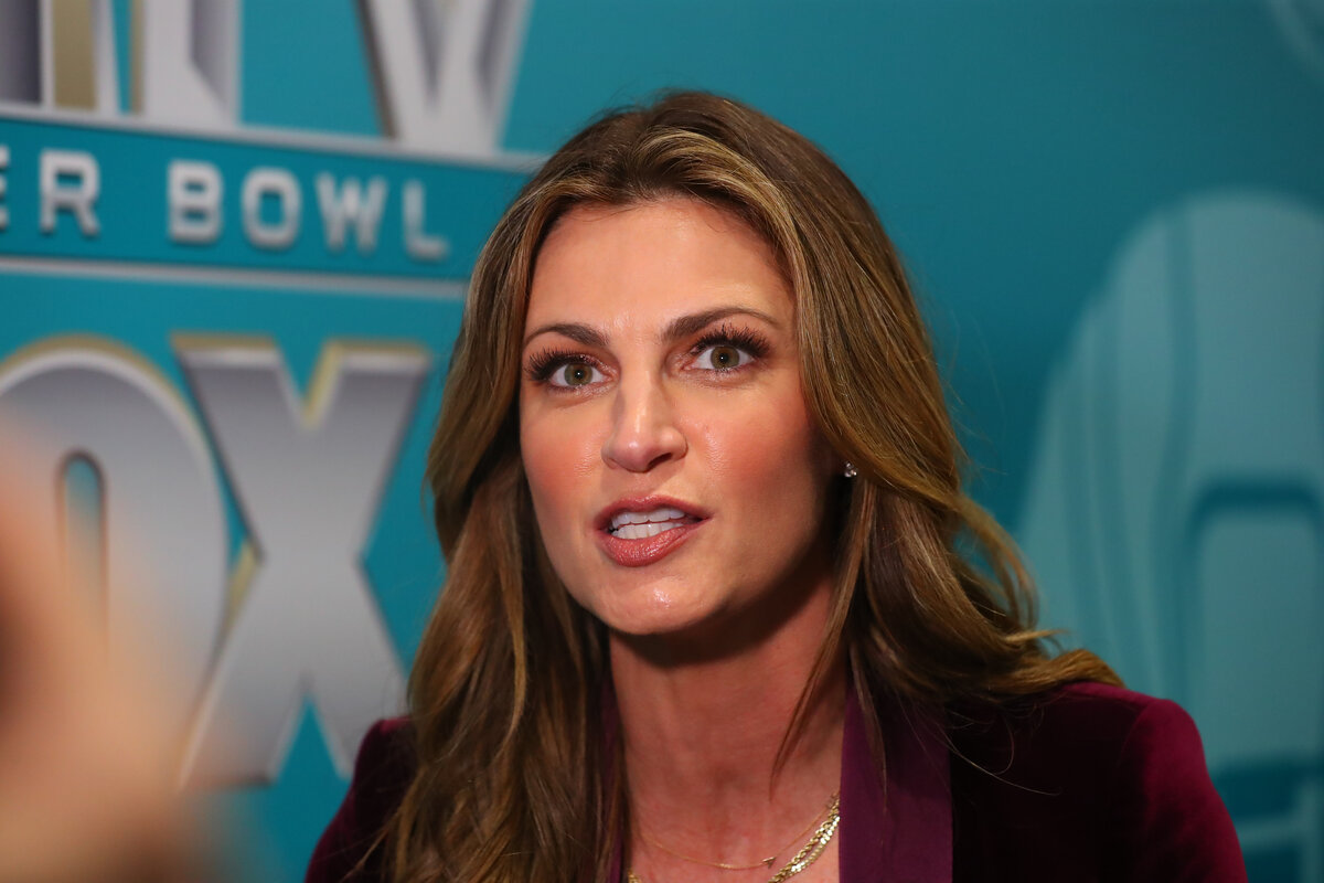 Fox's Erin Andrews was a college basketball dancer before she went into TV.