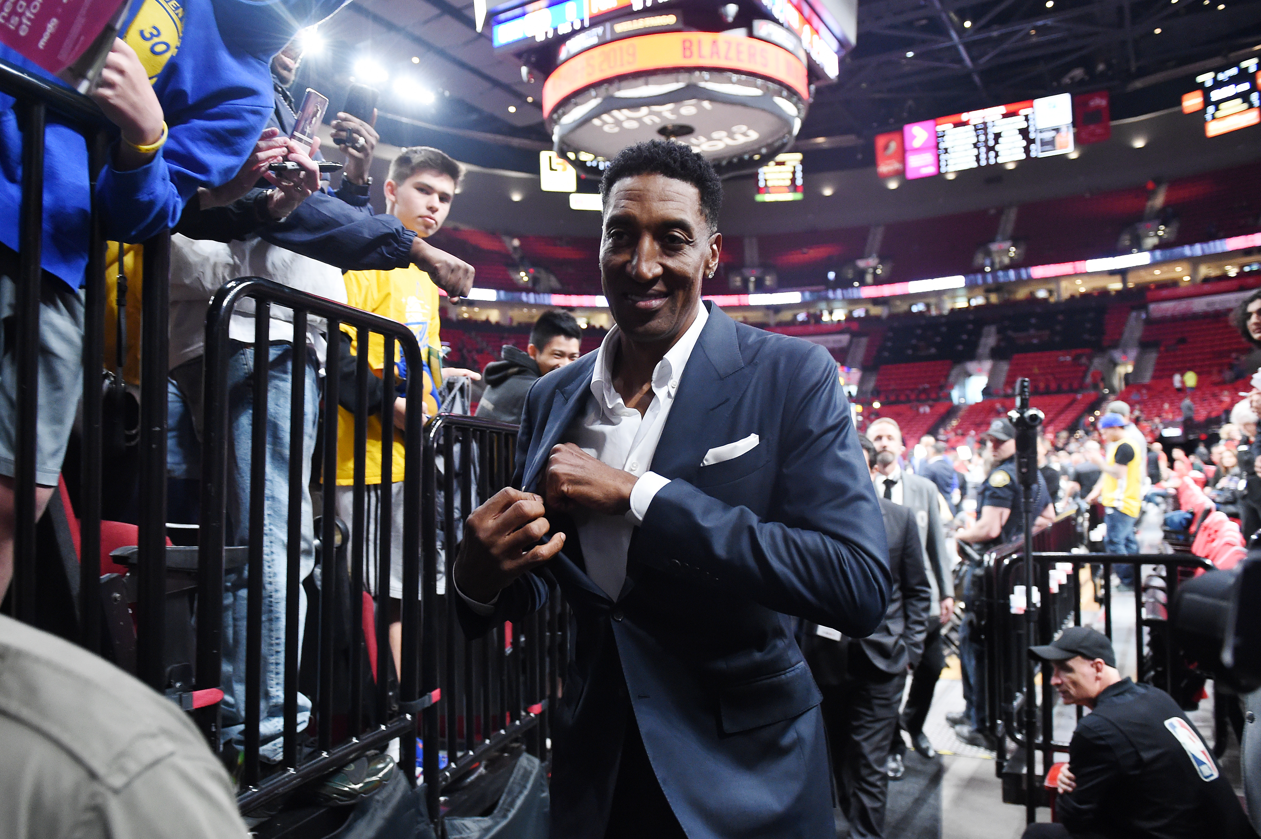 NBA player Scottie Pippen