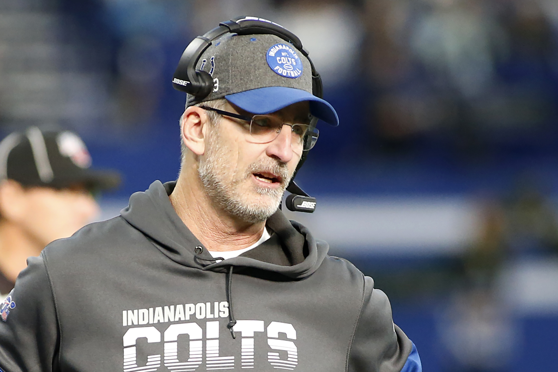 The Indianapolis Colts play the Chicago Bears on Sunday. Colts coach Frank Reich just sent the Bears a strong message ahead of the game.