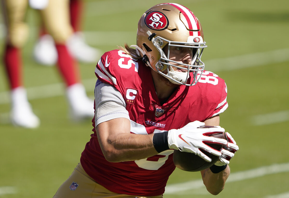 Football fans will see 49ers star George Kittle and the league at large celebrating 'National Tight Ends Day' in Week 7. What exactly is the event?