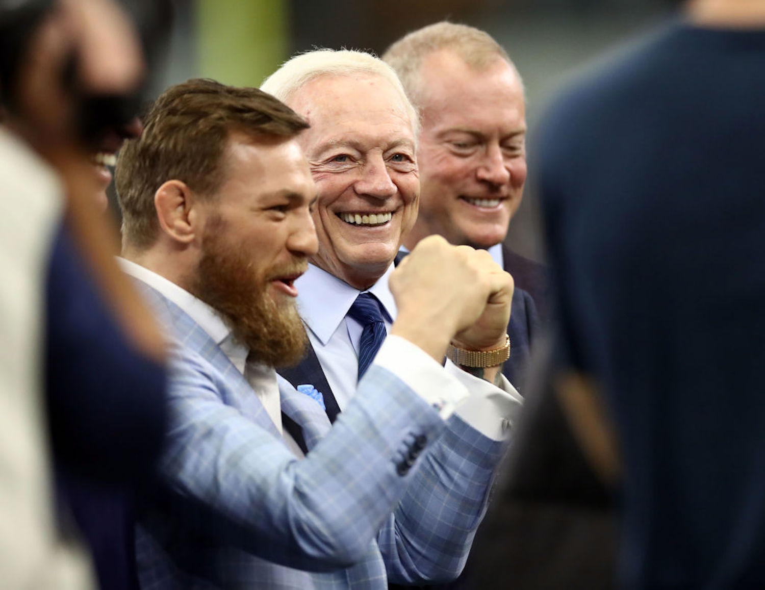 Jerry Jones is a big fan of Conor McGregor, and the Cowboys' owner and GM wants to host the UFC star's next fight in Dallas.