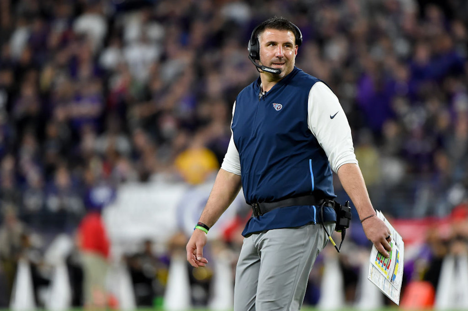 Mike Vrabel Made the Most Genius Coaching Move and You Probably Didn't Even Notice It