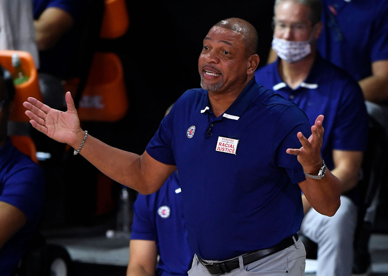 Doc Rivers considered taking a break from coaching after his stint with the Clippers, but something in Philadelphia made him change his mind.