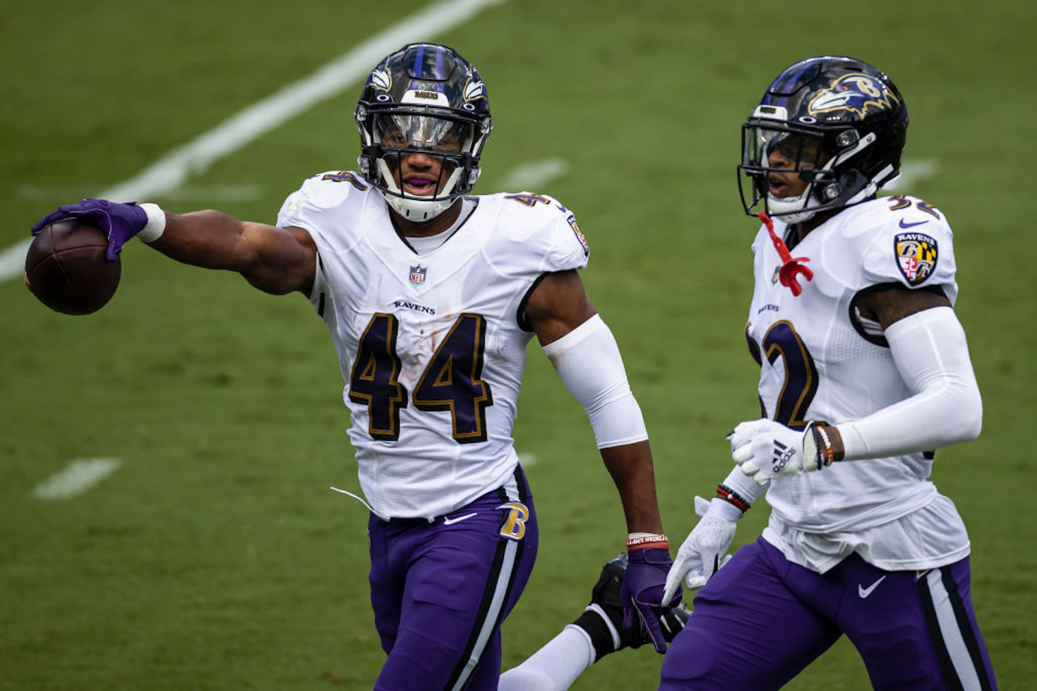 The Baltimore Ravens are shifting their focus to defense after their first loss of 2020, signing Marlon Humphrey to a $98 million extension.