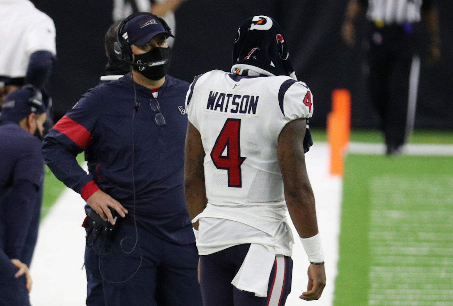 Bill O'Brien became the first head coach to get fired in 2020, and after ruining Deshaun Watson's prime years, he deserved to be.