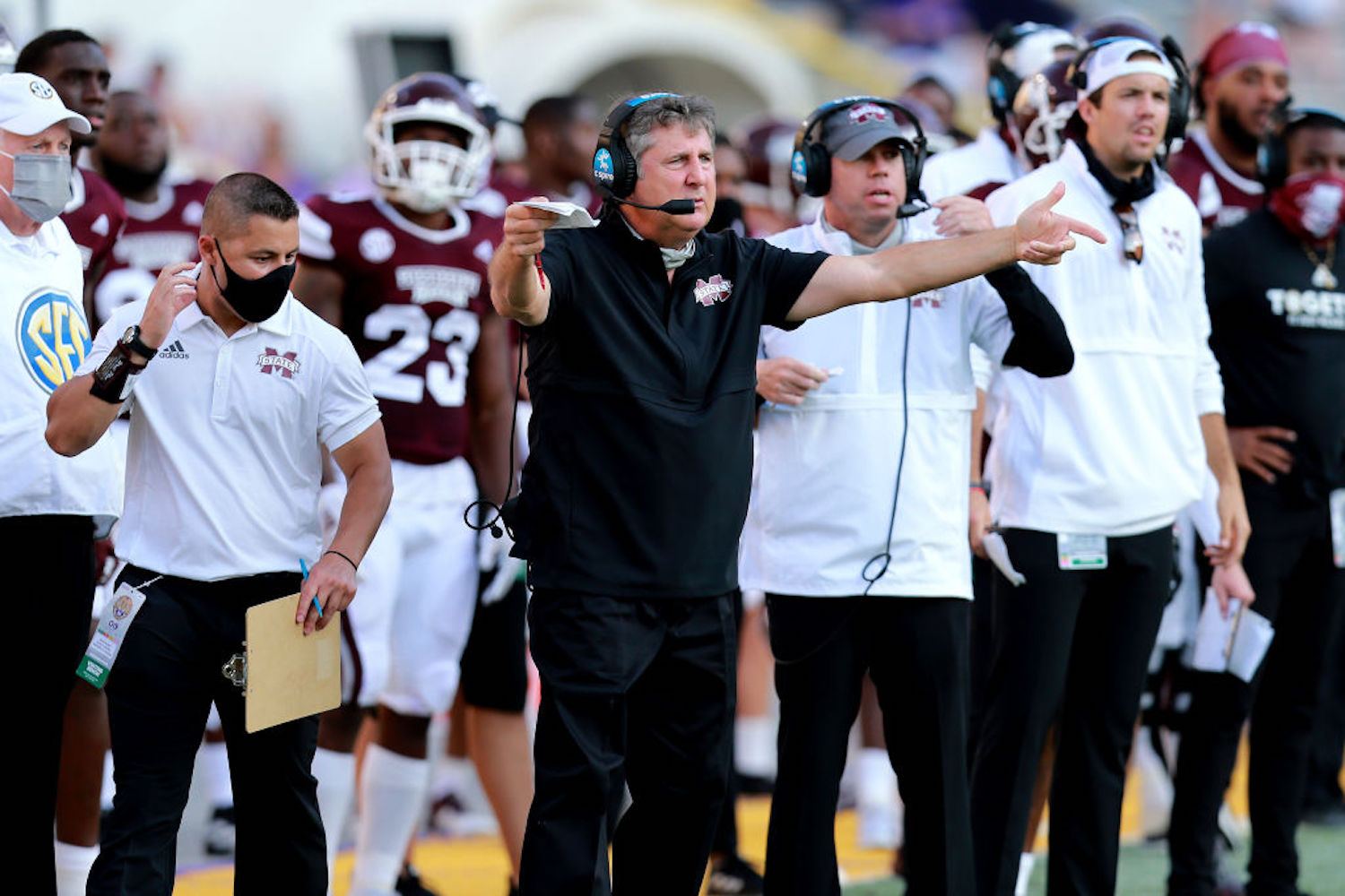 Mike Leach called for a 'purge' of the program a few weeks ago, and Mississippi State is now losing players left and right.