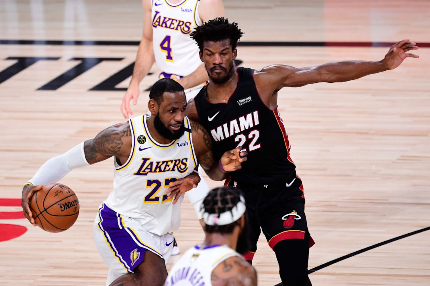 Jimmy Butler led the Miami Heat to an improbable Game 3 win Sunday night, and he wasn't afraid to talk trash to LeBron James afterward.