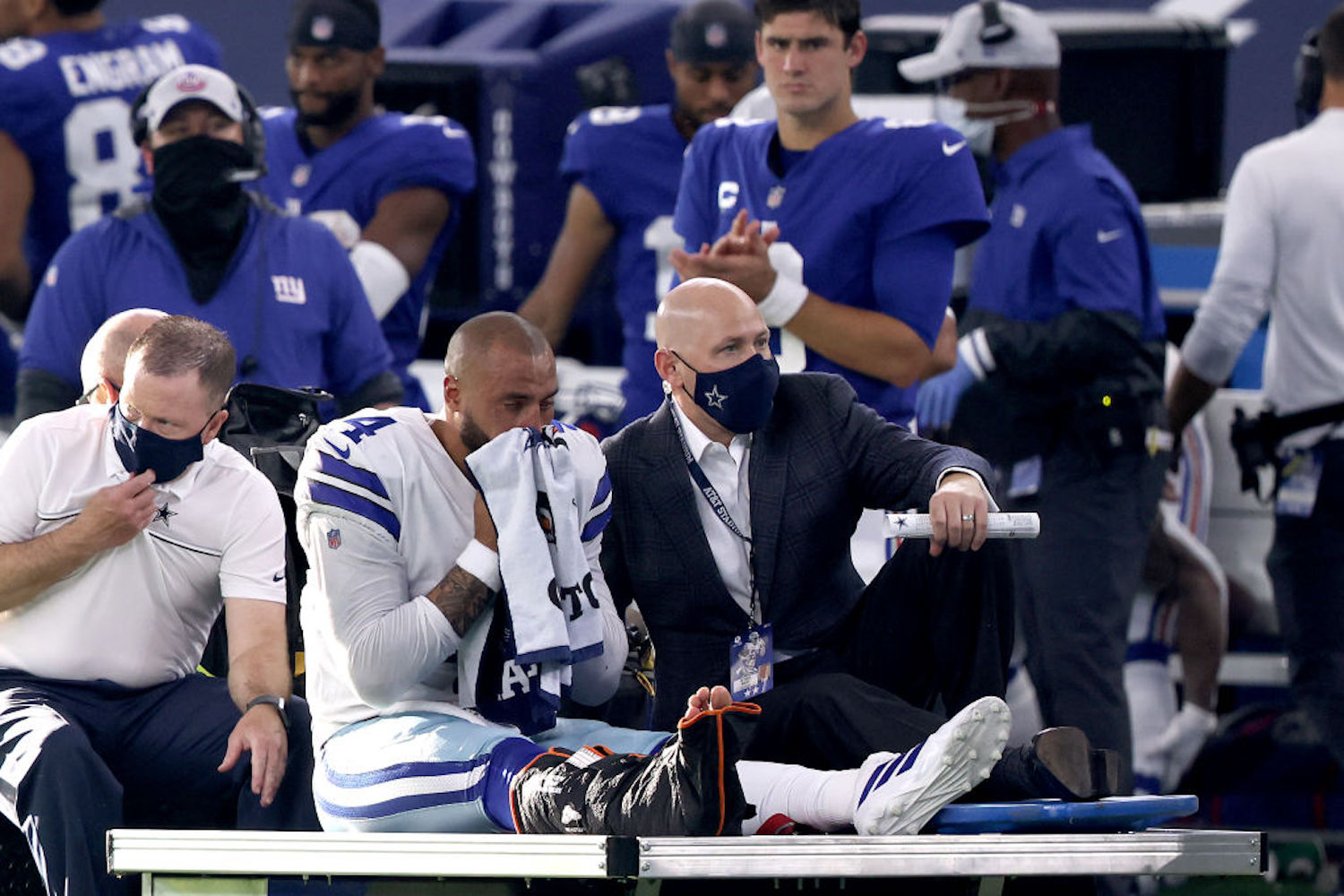 Dak Prescott suffered a gruesome ankle injury on Sunday, so how long will he be out and how have other players fared coming back from the same injury?