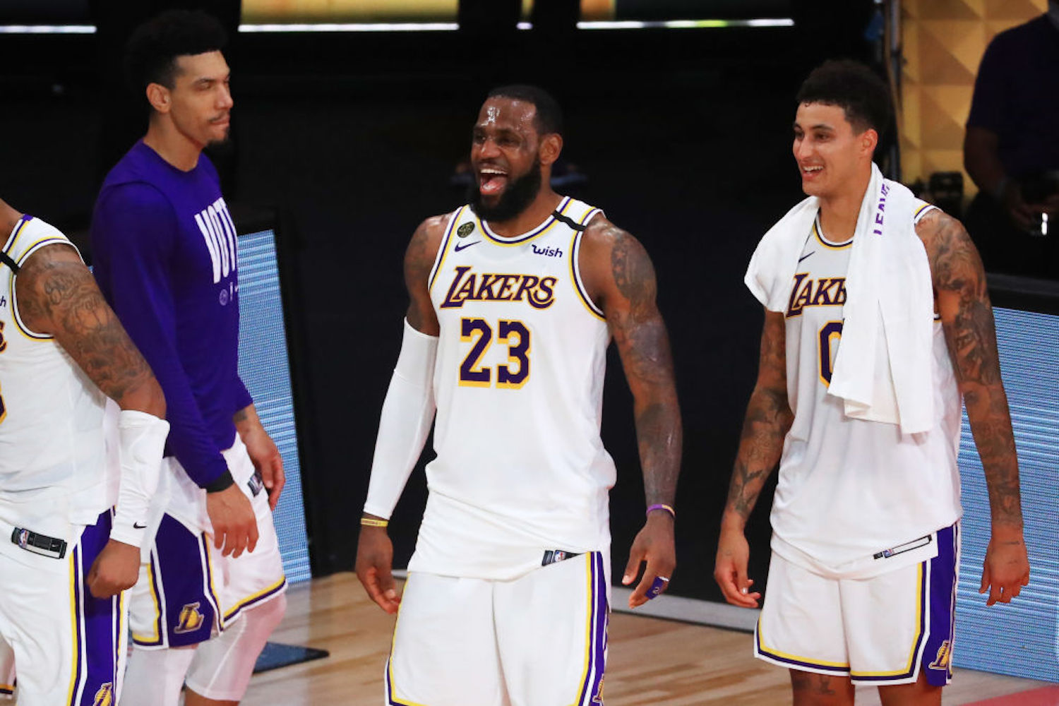 The Lakers couldn't help but laugh out loud when the Clippers embarrassingly blew a 3-1 lead in the Western Conference Semifinals.