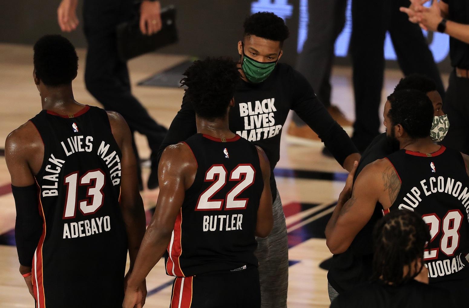 Giannis Antetokounmpo Miami Heat