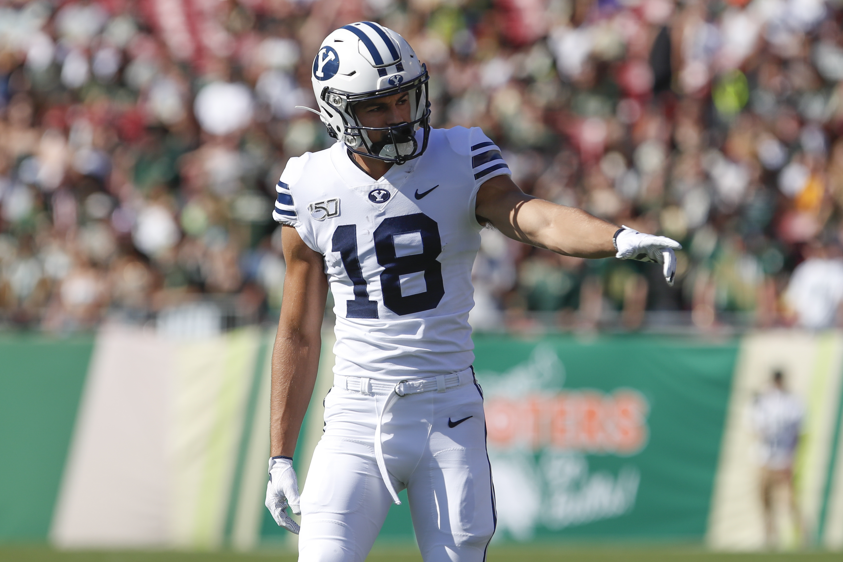 BYU receiver Gunner Romney is having a breakout 2020 season. Is he related to U.S. Senator Mitt Romney?